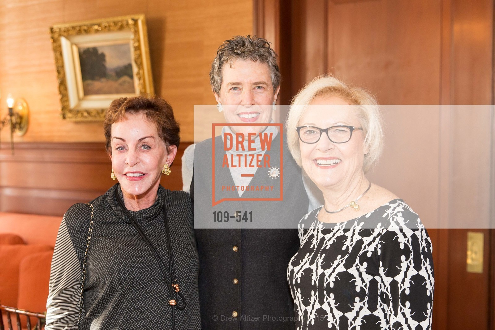 Gail Moore, Alice Russell-Shapiro, Ellen Johnck, Ceremony Inaugurating the Campaign for San Francisco Heritage & Haas-Lilienthal House, Haas-Lilienthal House. 2007 Franklin Street, November 18th, 2015,Drew Altizer, Drew Altizer Photography, full-service agency, private events, San Francisco photographer, photographer california