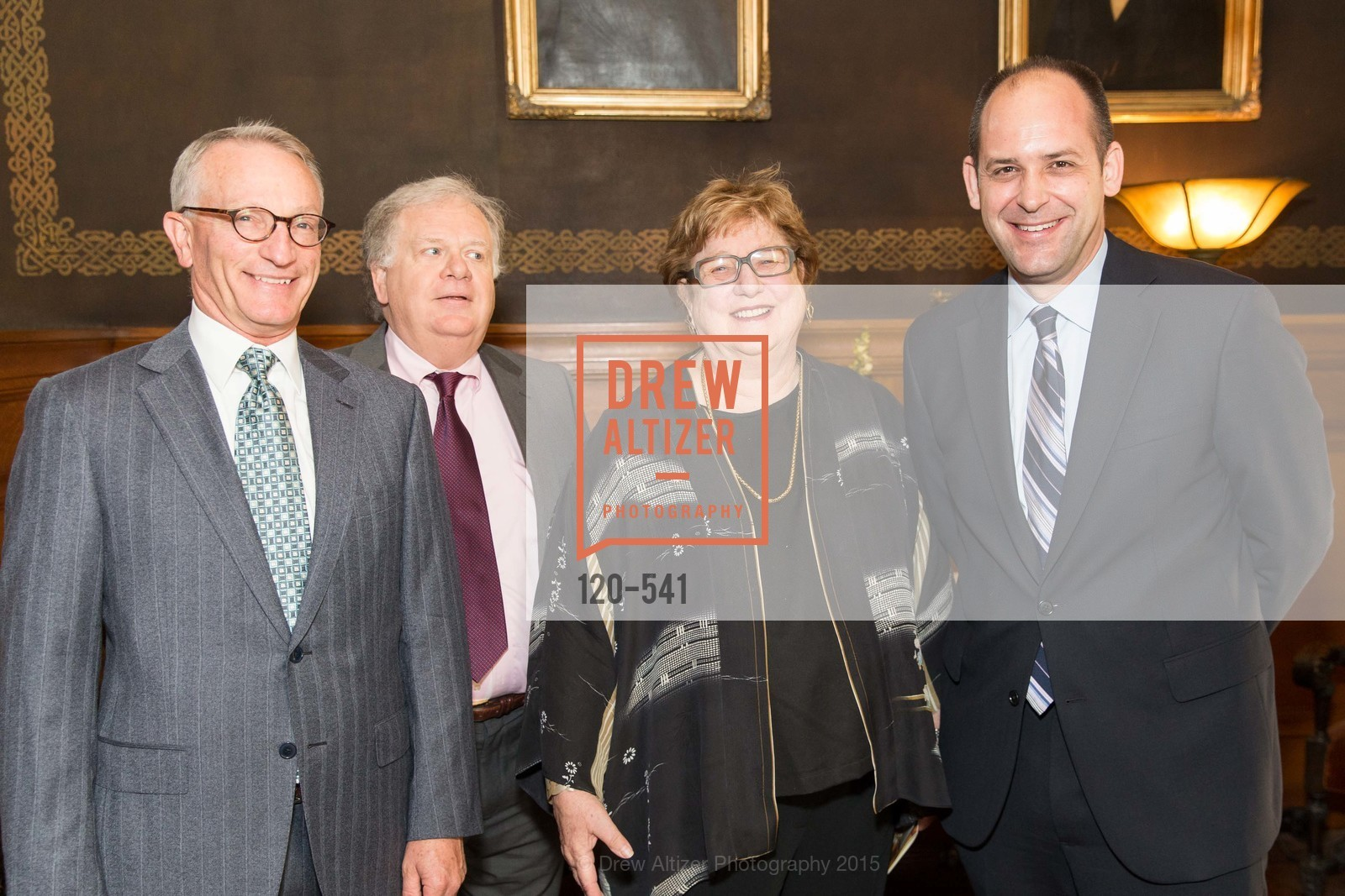 David Wessel, Bruce Bonacker, Linda Jo Fitz, Mike Buhler, Ceremony Inaugurating the Campaign for San Francisco Heritage & Haas-Lilienthal House, Haas-Lilienthal House. 2007 Franklin Street, November 18th, 2015,Drew Altizer, Drew Altizer Photography, full-service agency, private events, San Francisco photographer, photographer california