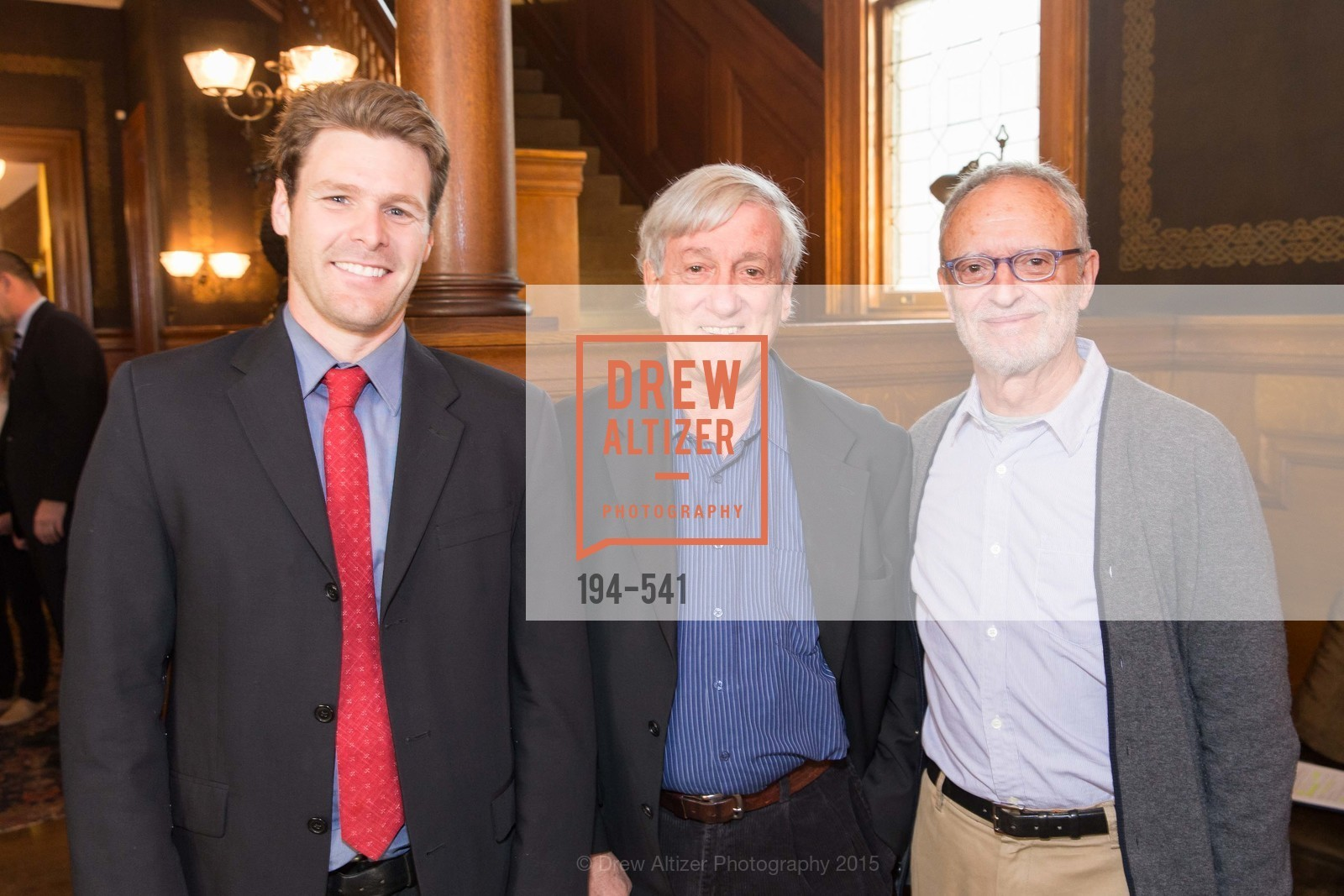Brian Turner, Arnie Lerner, Don Andreini, Ceremony Inaugurating the Campaign for San Francisco Heritage & Haas-Lilienthal House, Haas-Lilienthal House. 2007 Franklin Street, November 18th, 2015,Drew Altizer, Drew Altizer Photography, full-service agency, private events, San Francisco photographer, photographer california