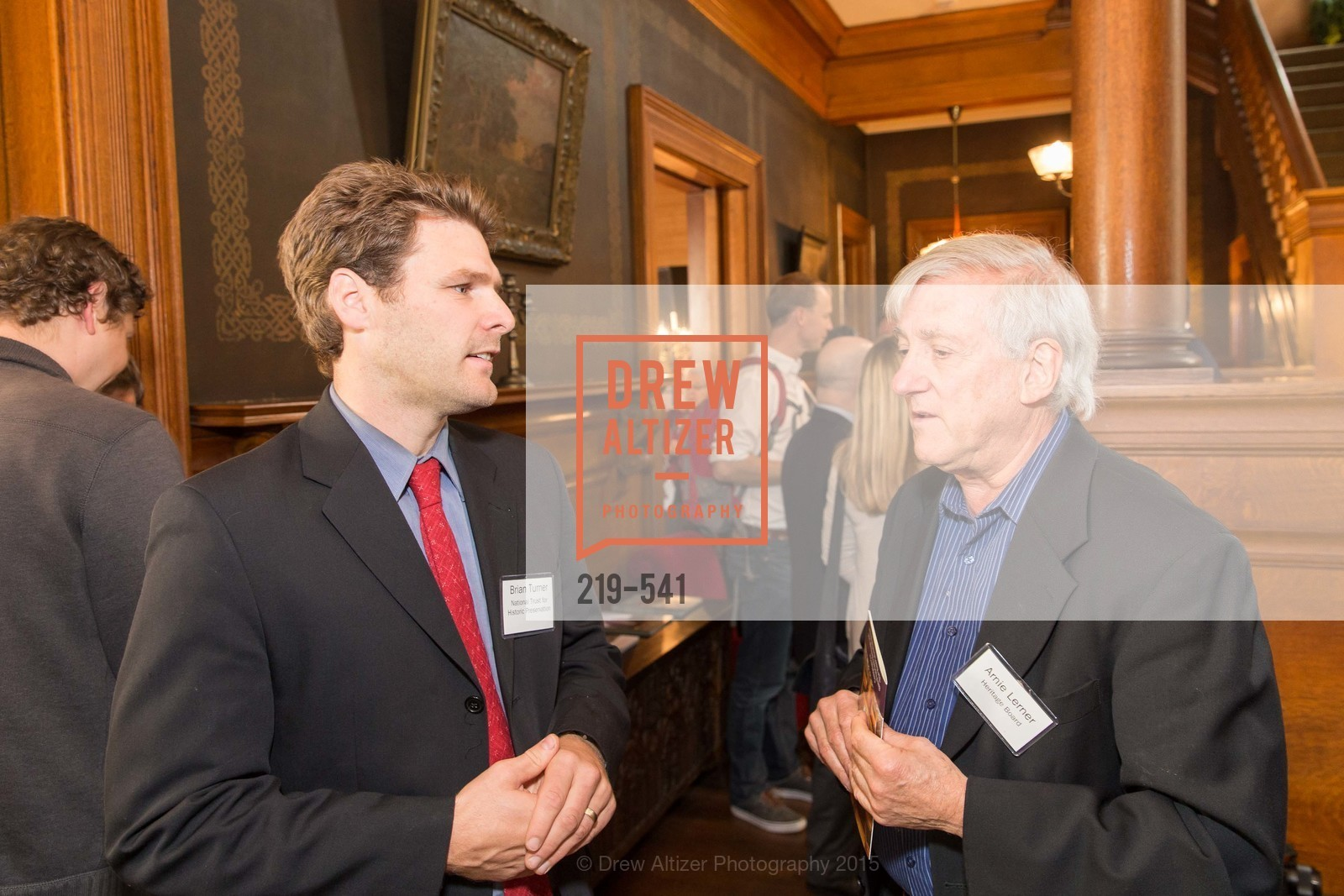 Brian Turner, Arnie Lerner, Ceremony Inaugurating the Campaign for San Francisco Heritage & Haas-Lilienthal House, Haas-Lilienthal House. 2007 Franklin Street, November 18th, 2015,Drew Altizer, Drew Altizer Photography, full-service agency, private events, San Francisco photographer, photographer california