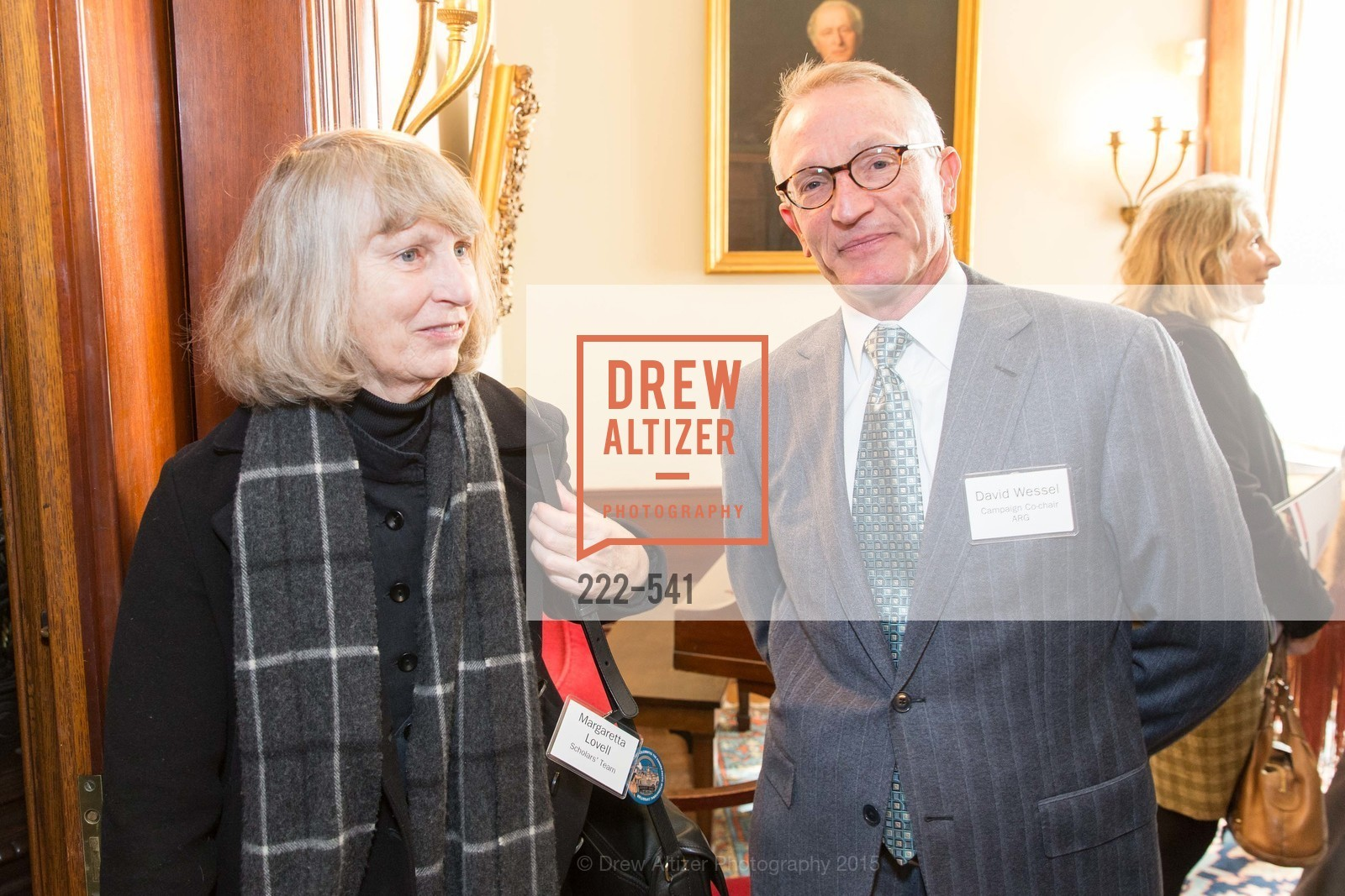 Margaretta Lovell, David Wessel, Ceremony Inaugurating the Campaign for San Francisco Heritage & Haas-Lilienthal House, Haas-Lilienthal House. 2007 Franklin Street, November 18th, 2015,Drew Altizer, Drew Altizer Photography, full-service agency, private events, San Francisco photographer, photographer california