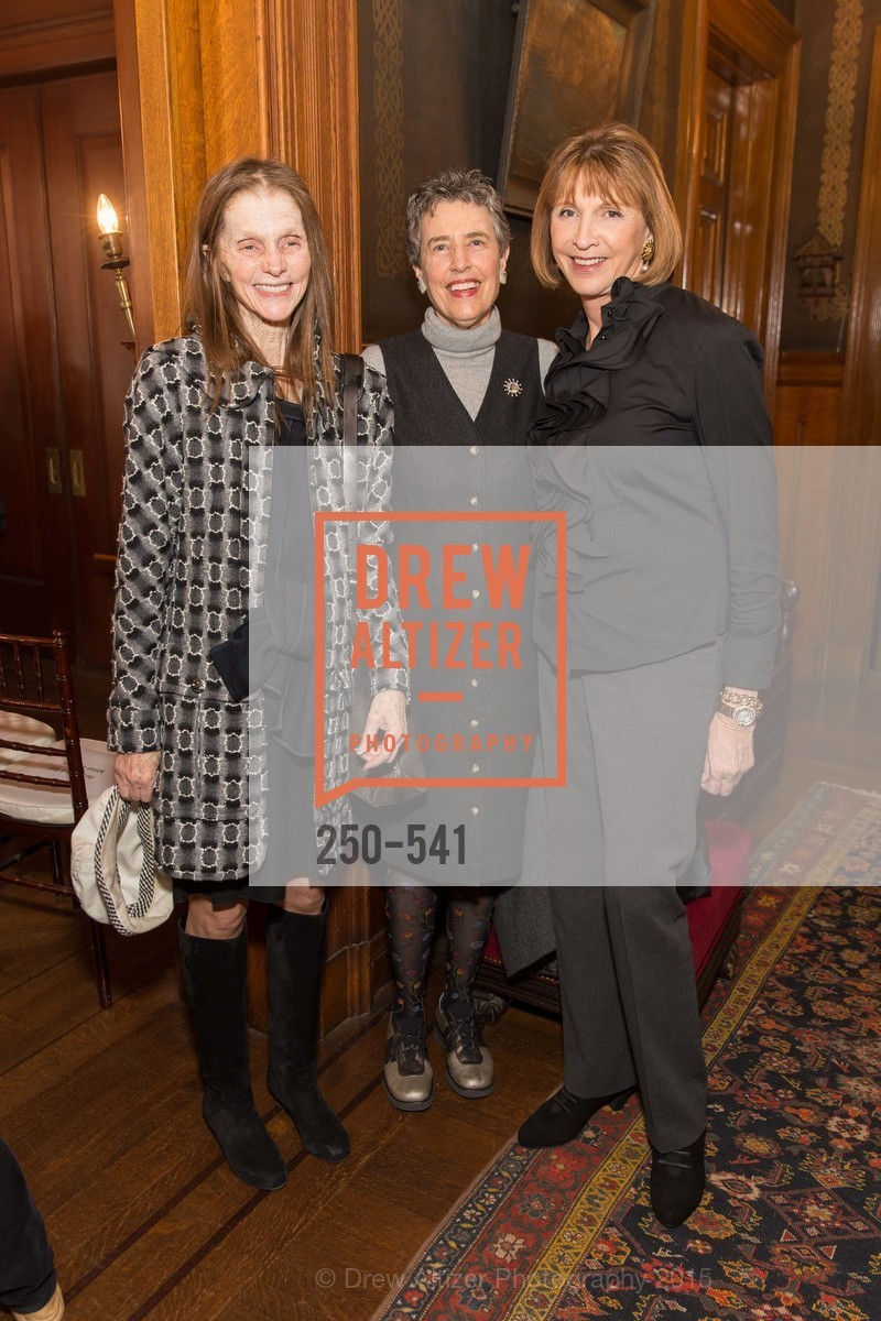 Mickey Bourne, Alice Russell-Shapiro, Tina Frank, Ceremony Inaugurating the Campaign for San Francisco Heritage & Haas-Lilienthal House, Haas-Lilienthal House. 2007 Franklin Street, November 18th, 2015,Drew Altizer, Drew Altizer Photography, full-service agency, private events, San Francisco photographer, photographer california