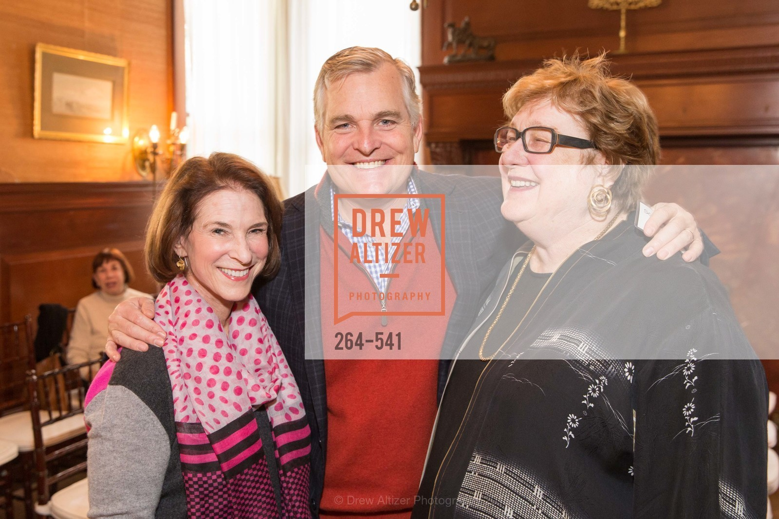 Gail Phillips, Scott Haskins, Linda Jo Fitz, Ceremony Inaugurating the Campaign for San Francisco Heritage & Haas-Lilienthal House, Haas-Lilienthal House. 2007 Franklin Street, November 18th, 2015,Drew Altizer, Drew Altizer Photography, full-service agency, private events, San Francisco photographer, photographer california