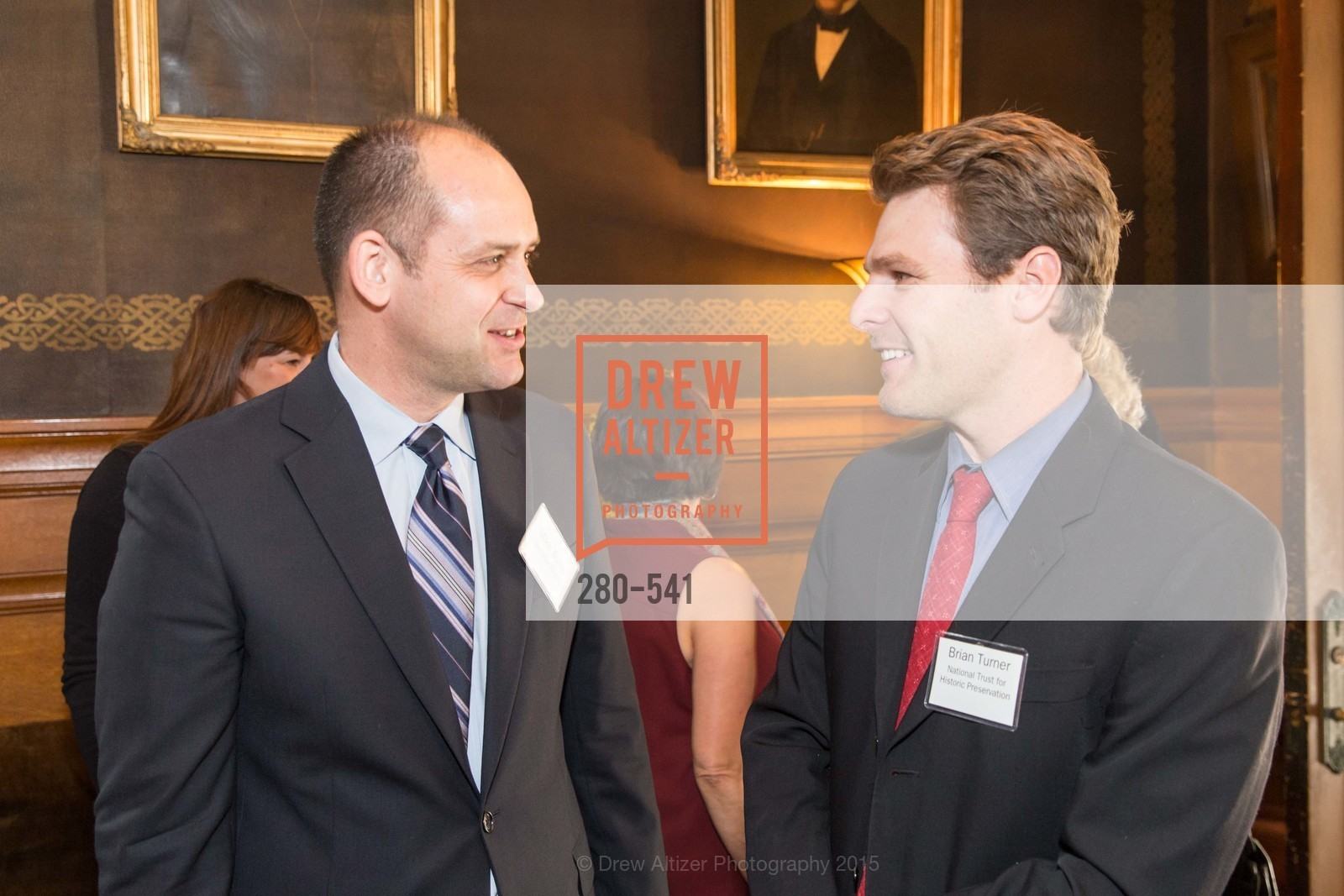 Mike Buhler, Brian Turner, Ceremony Inaugurating the Campaign for San Francisco Heritage & Haas-Lilienthal House, Haas-Lilienthal House. 2007 Franklin Street, November 18th, 2015,Drew Altizer, Drew Altizer Photography, full-service agency, private events, San Francisco photographer, photographer california