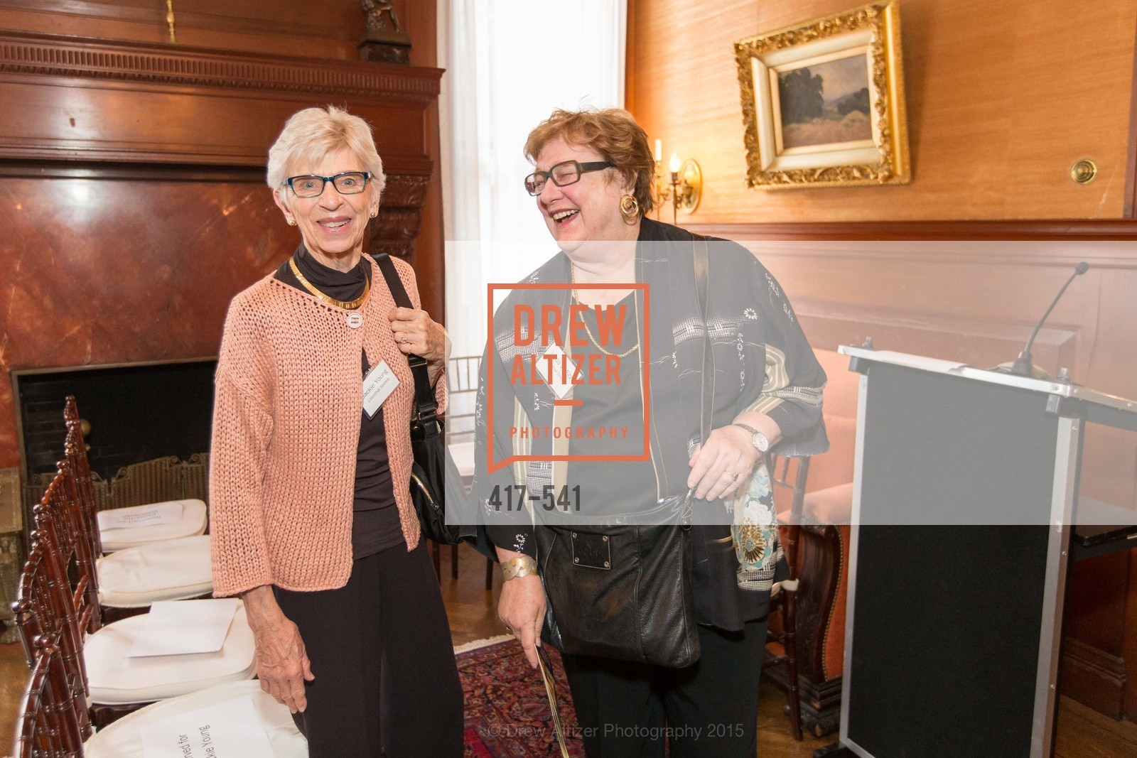 Jackie Young, Linda Jo Fitz, Ceremony Inaugurating the Campaign for San Francisco Heritage & Haas-Lilienthal House, Haas-Lilienthal House. 2007 Franklin Street, November 18th, 2015,Drew Altizer, Drew Altizer Photography, full-service event agency, private events, San Francisco photographer, photographer California