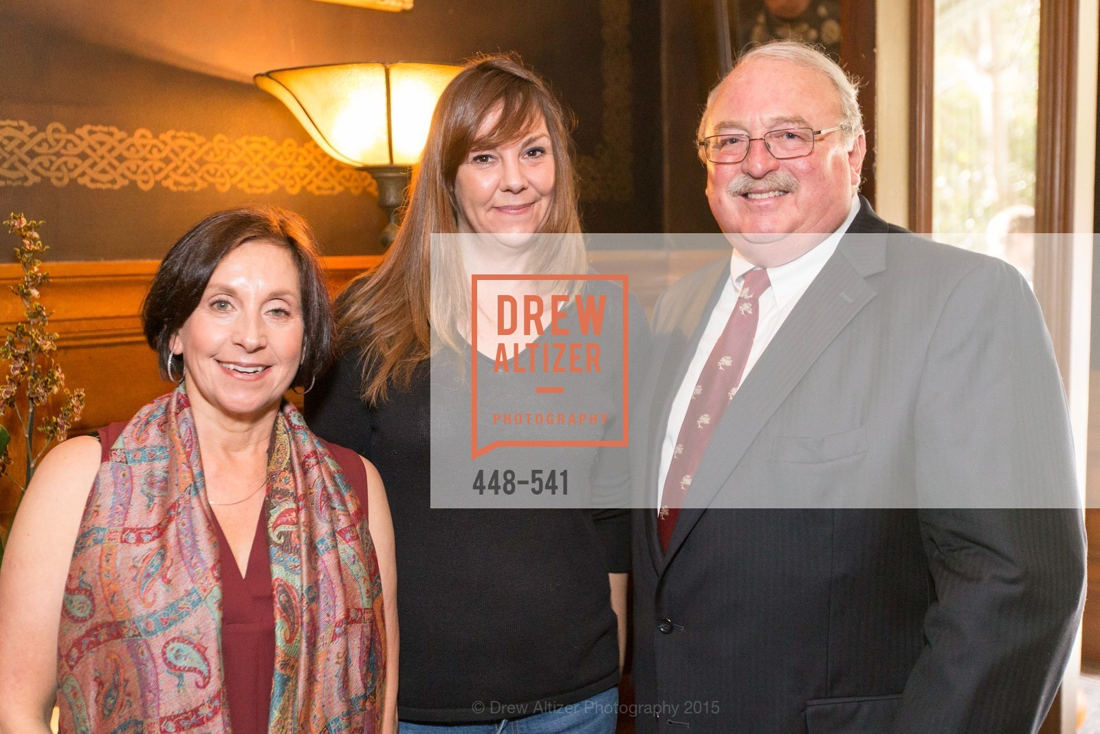 Rajni Gagnon, Pam Larson, Mike Romo, Ceremony Inaugurating the Campaign for San Francisco Heritage & Haas-Lilienthal House, Haas-Lilienthal House. 2007 Franklin Street, November 18th, 2015,Drew Altizer, Drew Altizer Photography, full-service agency, private events, San Francisco photographer, photographer california