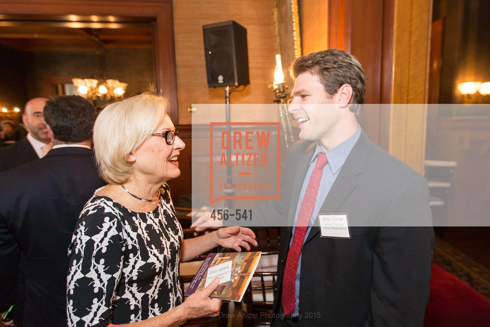 Ellen Johnck, Brian Turner, Ceremony Inaugurating the Campaign for San Francisco Heritage & Haas-Lilienthal House, Haas-Lilienthal House. 2007 Franklin Street, November 18th, 2015,Drew Altizer, Drew Altizer Photography, full-service agency, private events, San Francisco photographer, photographer california