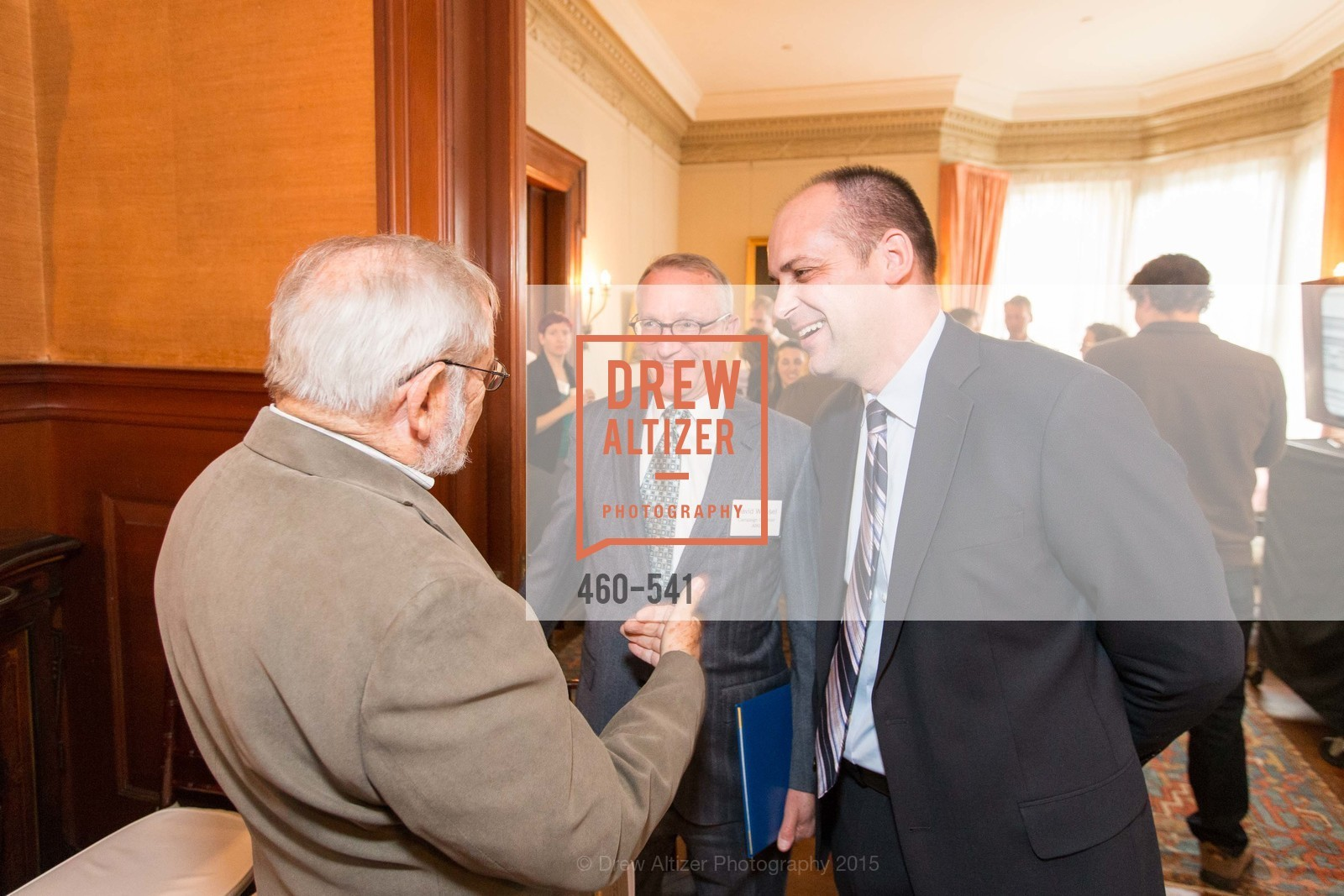 Carl Nolte, David Wessel, Mike Buhler, Ceremony Inaugurating the Campaign for San Francisco Heritage & Haas-Lilienthal House, Haas-Lilienthal House. 2007 Franklin Street, November 18th, 2015,Drew Altizer, Drew Altizer Photography, full-service agency, private events, San Francisco photographer, photographer california
