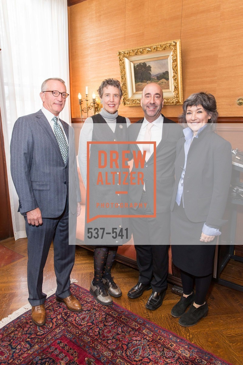 David Wessel, Alice Russell-Shapiro, Fred Hamber, Shaari Ergas, Ceremony Inaugurating the Campaign for San Francisco Heritage & Haas-Lilienthal House, Haas-Lilienthal House. 2007 Franklin Street, November 18th, 2015,Drew Altizer, Drew Altizer Photography, full-service event agency, private events, San Francisco photographer, photographer California