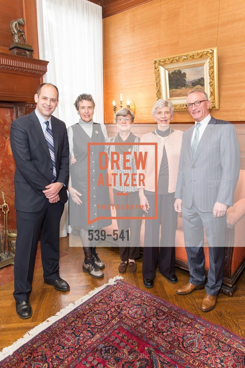 Mike Buhler, Alice Russell-Shapiro, Lucy Matzger, Jackie Young, David Wessel, Ceremony Inaugurating the Campaign for San Francisco Heritage & Haas-Lilienthal House, Haas-Lilienthal House. 2007 Franklin Street, November 18th, 2015,Drew Altizer, Drew Altizer Photography, full-service agency, private events, San Francisco photographer, photographer california