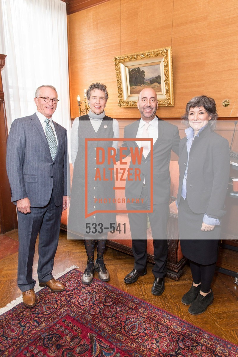 David Wessel, Alice Russell-Shapiro, Fred Hamber, Shaari Ergas, Ceremony Inaugurating the Campaign for San Francisco Heritage & Haas-Lilienthal House, Haas-Lilienthal House. 2007 Franklin Street, November 18th, 2015,Drew Altizer, Drew Altizer Photography, full-service agency, private events, San Francisco photographer, photographer california