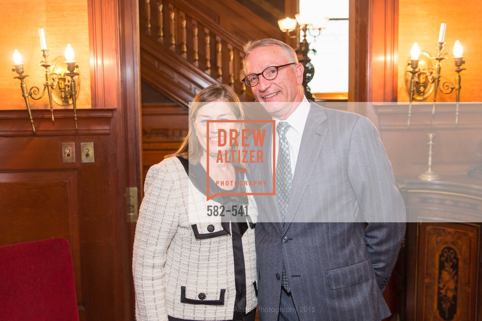 Carolyn Squeri, David Wessel, Ceremony Inaugurating the Campaign for San Francisco Heritage & Haas-Lilienthal House, Haas-Lilienthal House. 2007 Franklin Street, November 18th, 2015,Drew Altizer, Drew Altizer Photography, full-service agency, private events, San Francisco photographer, photographer california