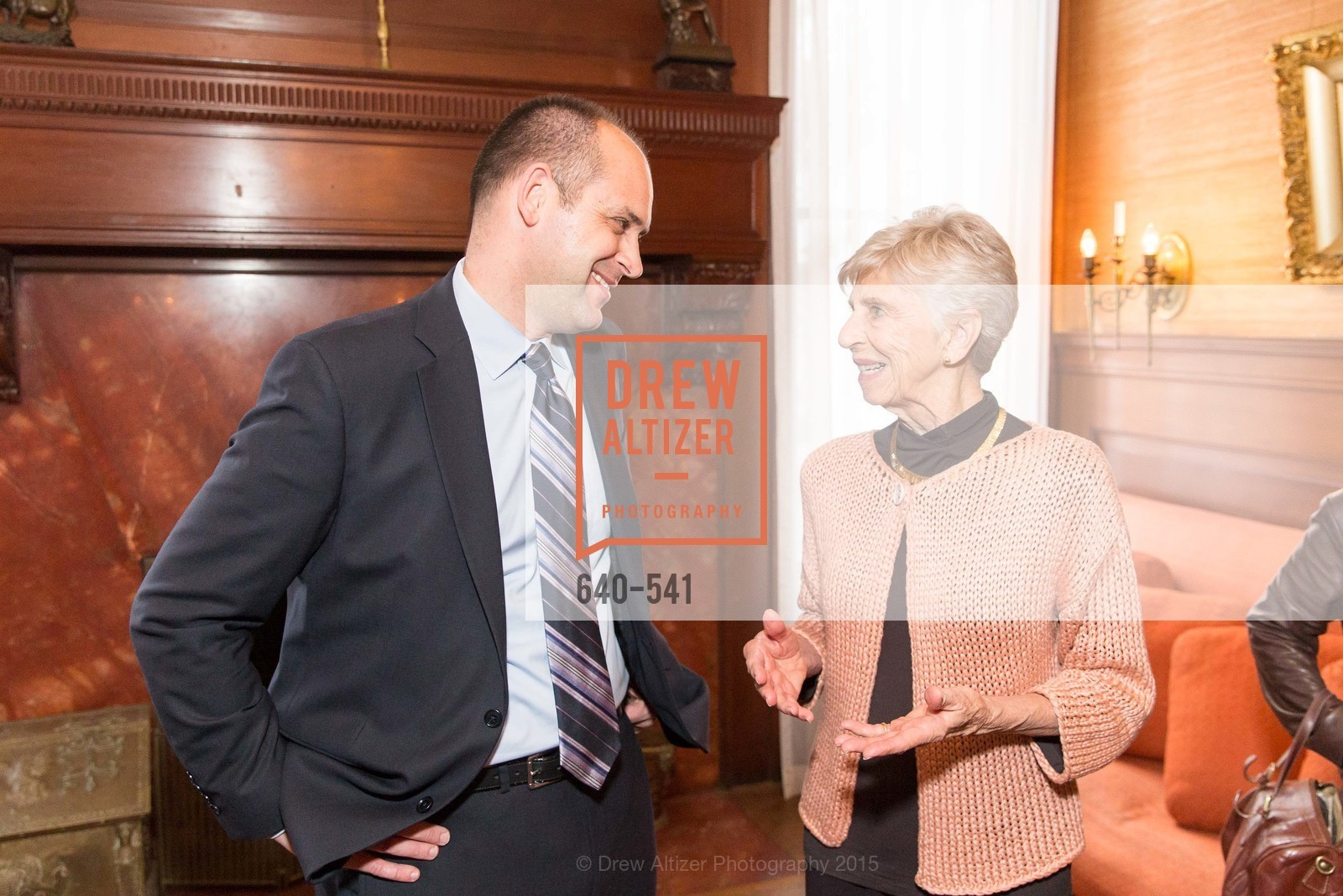Mike Buhler, Jackie Young, Ceremony Inaugurating the Campaign for San Francisco Heritage & Haas-Lilienthal House, Haas-Lilienthal House. 2007 Franklin Street, November 18th, 2015,Drew Altizer, Drew Altizer Photography, full-service event agency, private events, San Francisco photographer, photographer California