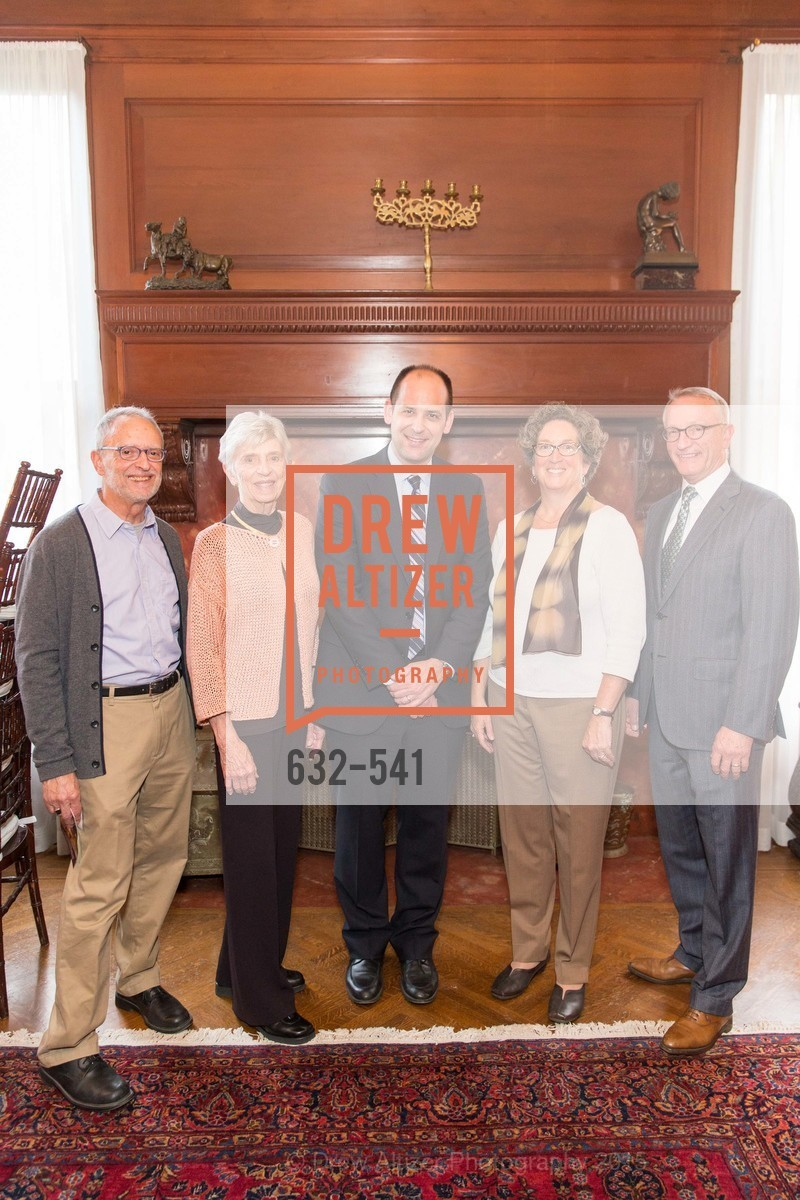 Don Andreini, Jackie Young, Mike Buhler, Debbie Cooper, David Wessel, Ceremony Inaugurating the Campaign for San Francisco Heritage & Haas-Lilienthal House, Haas-Lilienthal House. 2007 Franklin Street, November 18th, 2015,Drew Altizer, Drew Altizer Photography, full-service agency, private events, San Francisco photographer, photographer california