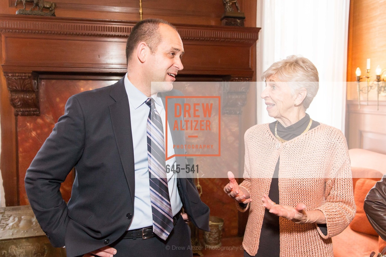 Mike Buhler, Jackie Young, Ceremony Inaugurating the Campaign for San Francisco Heritage & Haas-Lilienthal House, Haas-Lilienthal House. 2007 Franklin Street, November 18th, 2015,Drew Altizer, Drew Altizer Photography, full-service agency, private events, San Francisco photographer, photographer california
