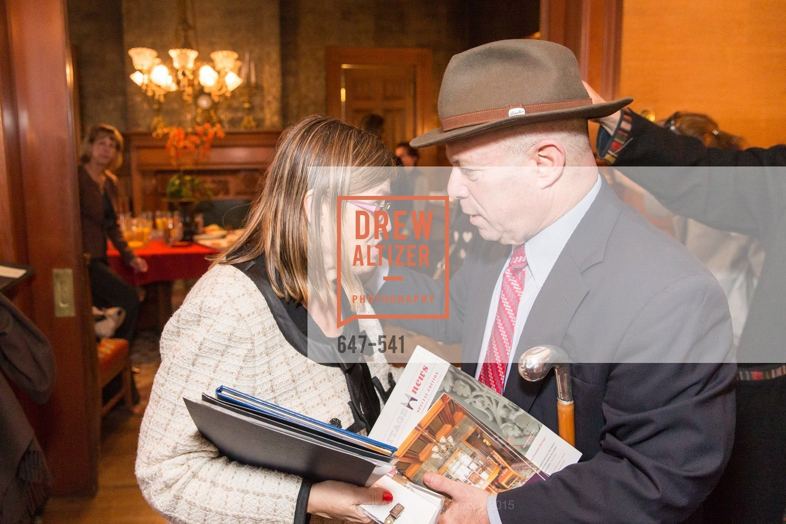 Carolyn Squeri, John Rothmann, Ceremony Inaugurating the Campaign for San Francisco Heritage & Haas-Lilienthal House, Haas-Lilienthal House. 2007 Franklin Street, November 18th, 2015,Drew Altizer, Drew Altizer Photography, full-service agency, private events, San Francisco photographer, photographer california