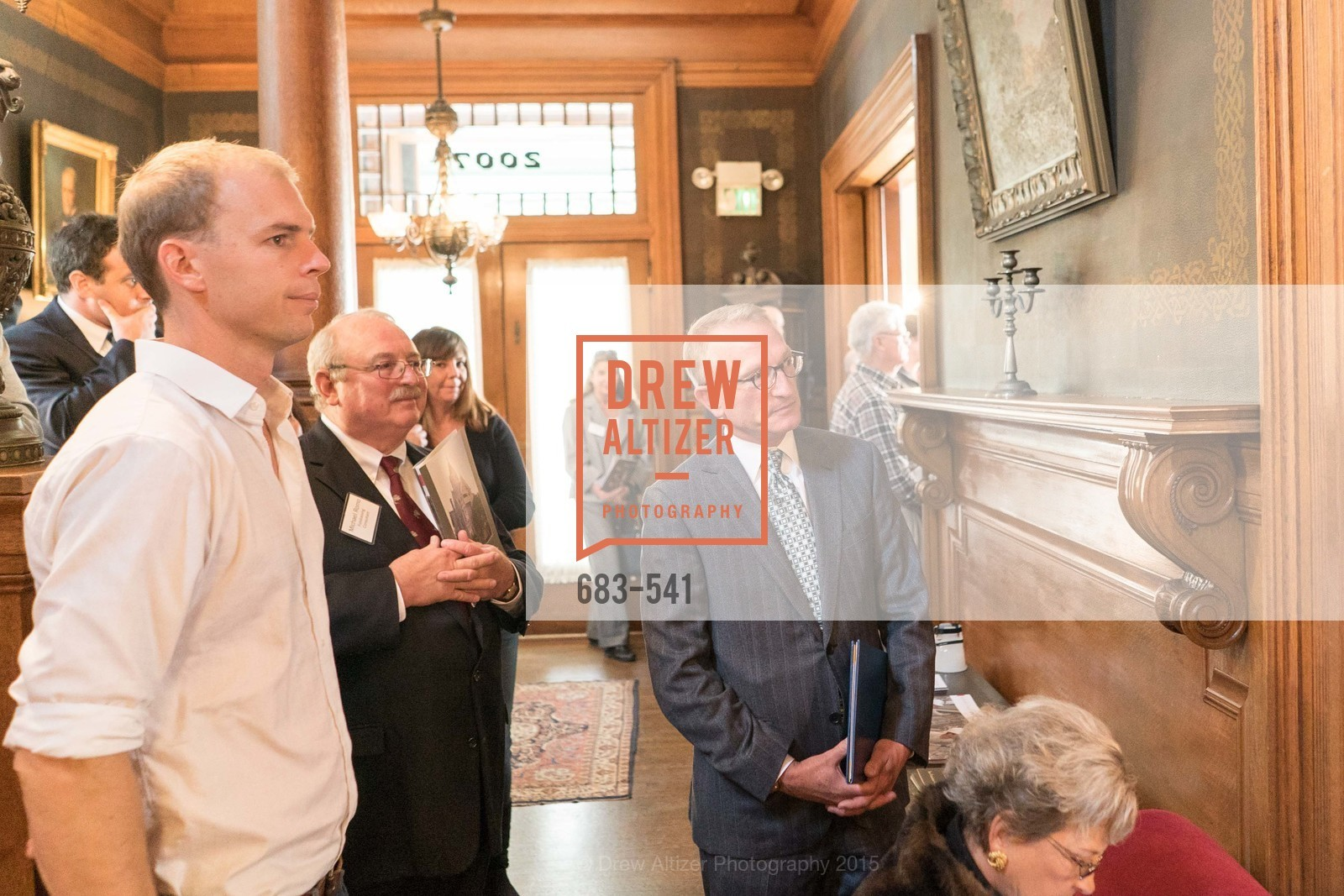Mike Romo, David Wessel, Ceremony Inaugurating the Campaign for San Francisco Heritage & Haas-Lilienthal House, Haas-Lilienthal House. 2007 Franklin Street, November 18th, 2015,Drew Altizer, Drew Altizer Photography, full-service agency, private events, San Francisco photographer, photographer california