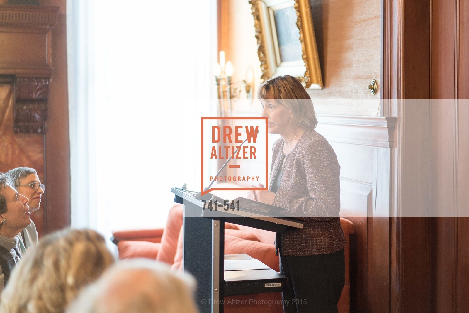 Barbara Pahl, Ceremony Inaugurating the Campaign for San Francisco Heritage & Haas-Lilienthal House, Haas-Lilienthal House. 2007 Franklin Street, November 18th, 2015,Drew Altizer, Drew Altizer Photography, full-service agency, private events, San Francisco photographer, photographer california