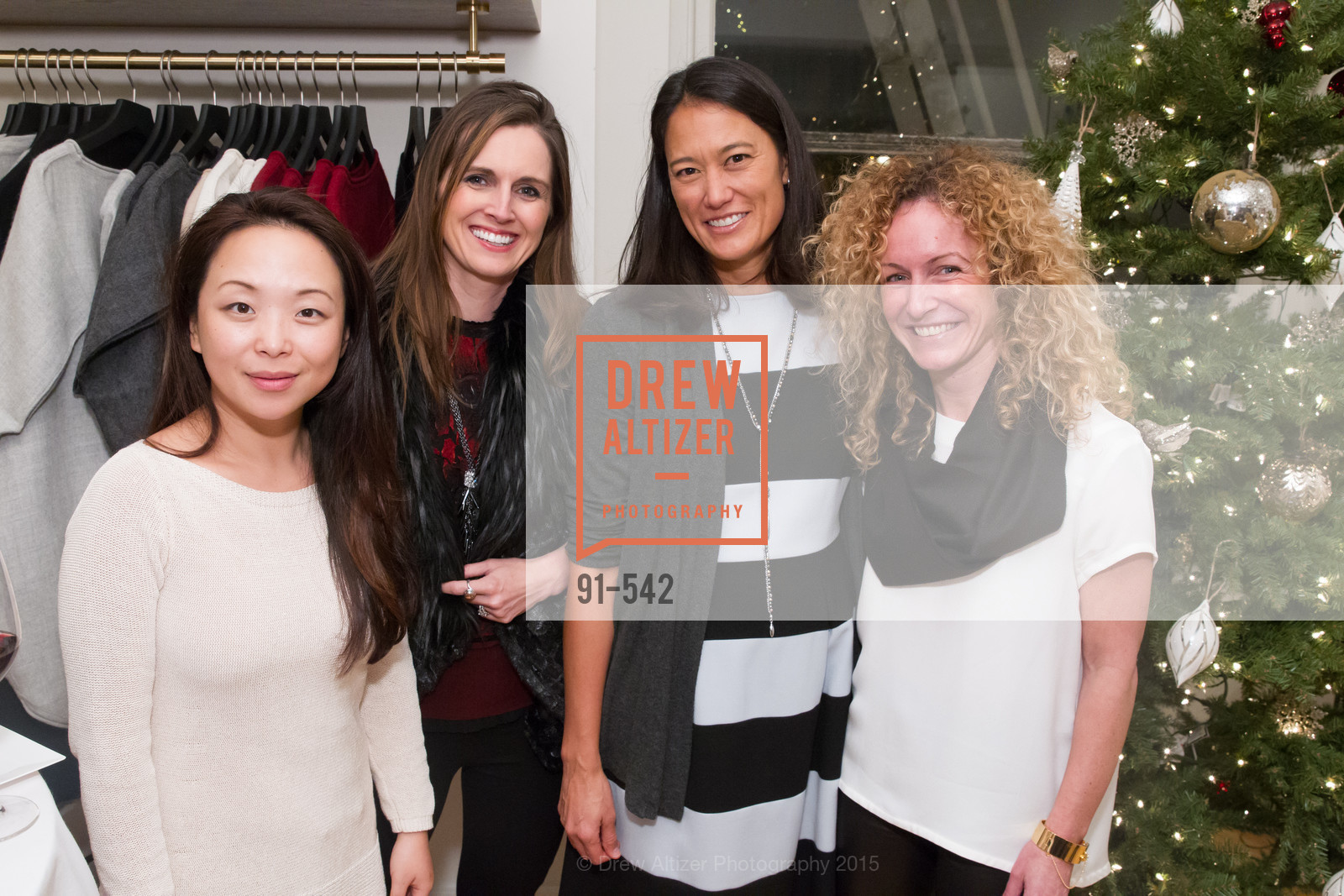 Sally Jung, Nicole Lampsa, Beth Smith, Katie Hartridge, Cuyana + The McBride Sisters, Cayuna Showroom. 291 Geary Street, 2nd Floor, November 19th, 2015,Drew Altizer, Drew Altizer Photography, full-service agency, private events, San Francisco photographer, photographer california