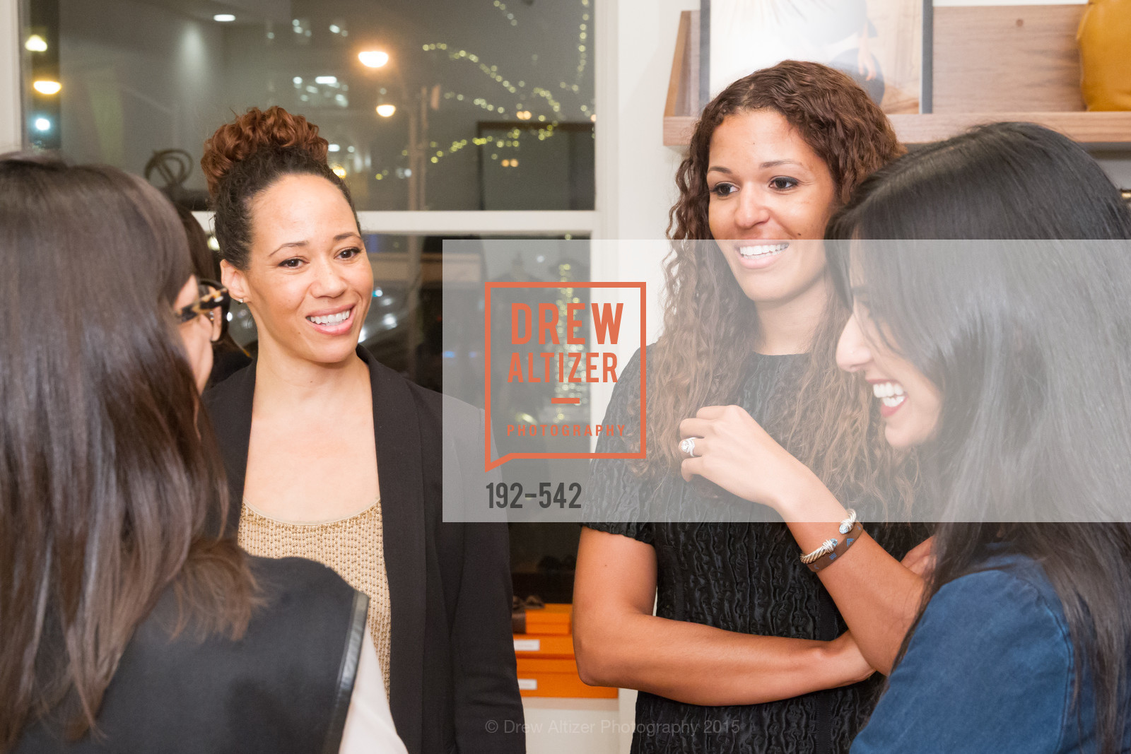 RobinMcBride, Andrea McBride, Cuyana + The McBride Sisters, Cayuna Showroom. 291 Geary Street, 2nd Floor, November 19th, 2015,Drew Altizer, Drew Altizer Photography, full-service agency, private events, San Francisco photographer, photographer california