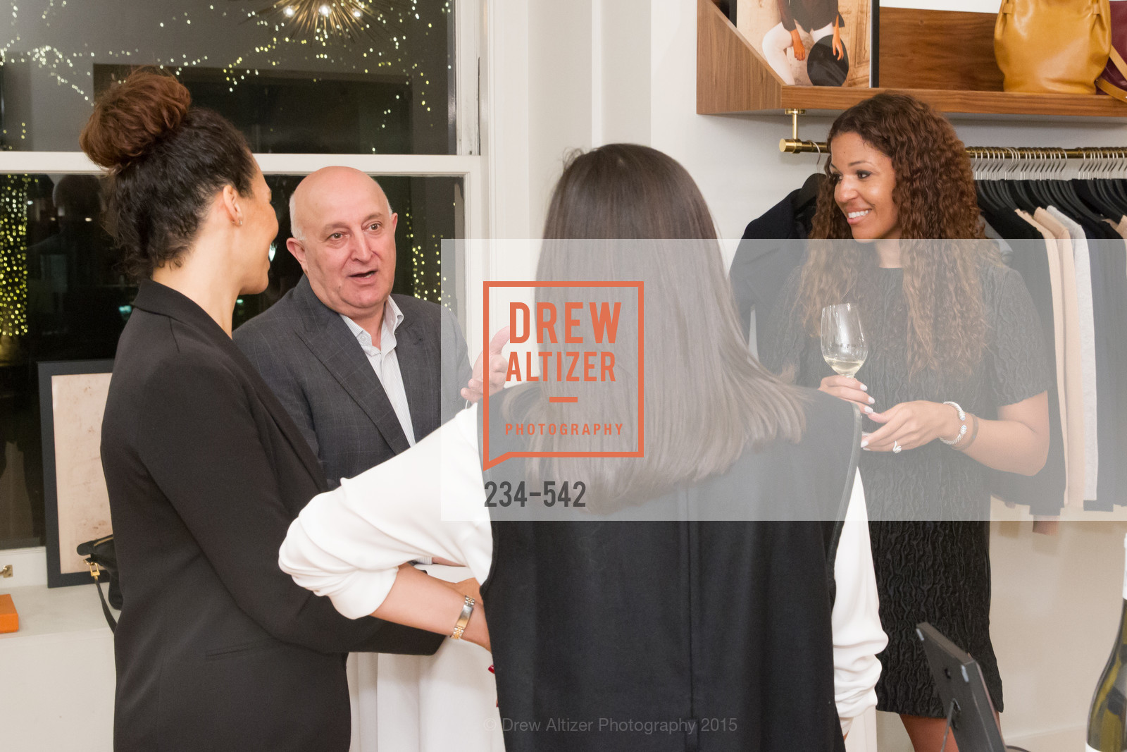 Andrea McBride, Cuyana + The McBride Sisters, Cayuna Showroom. 291 Geary Street, 2nd Floor, November 19th, 2015,Drew Altizer, Drew Altizer Photography, full-service agency, private events, San Francisco photographer, photographer california