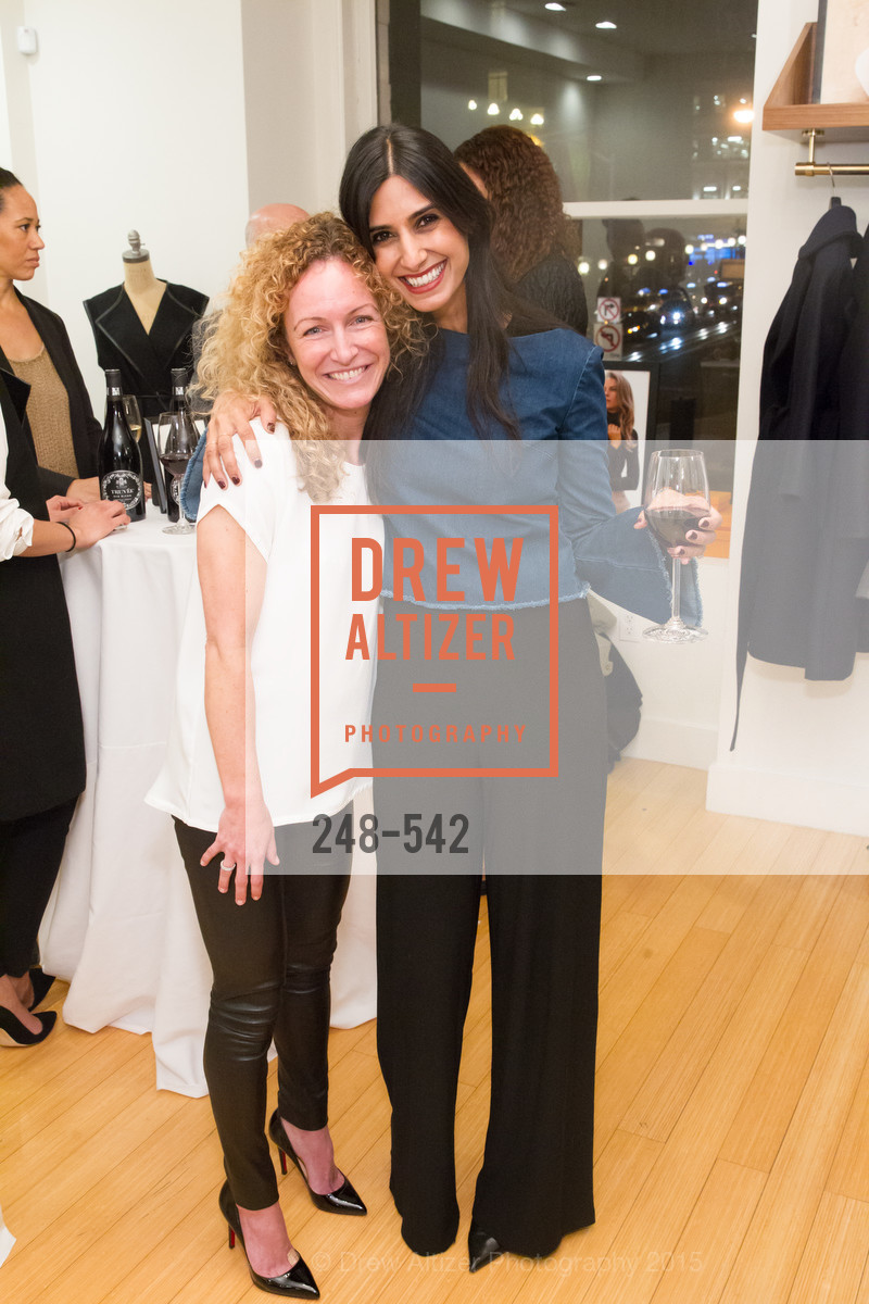 Katie Hartridge, Shilpa Shah, Cuyana + The McBride Sisters, Cayuna Showroom. 291 Geary Street, 2nd Floor, November 19th, 2015,Drew Altizer, Drew Altizer Photography, full-service event agency, private events, San Francisco photographer, photographer California