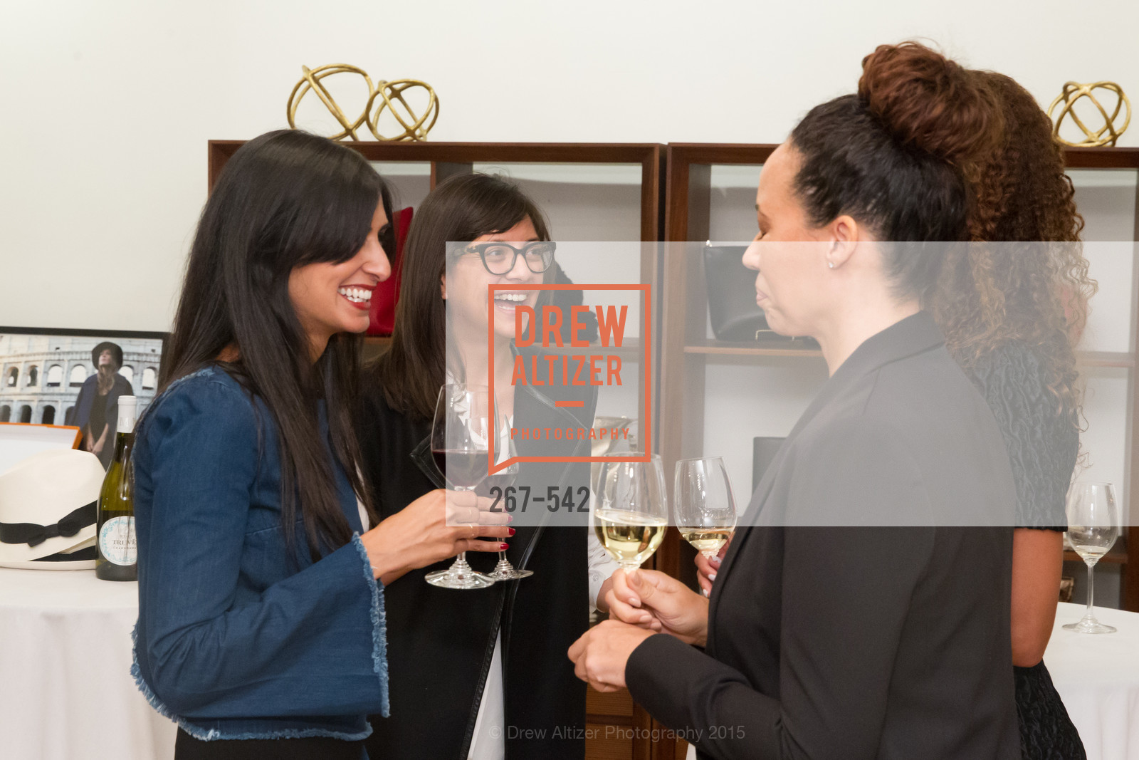 Shilpa Shah, Karla Gallardo, Robin McBride, Cuyana + The McBride Sisters, Cayuna Showroom. 291 Geary Street, 2nd Floor, November 19th, 2015,Drew Altizer, Drew Altizer Photography, full-service agency, private events, San Francisco photographer, photographer california