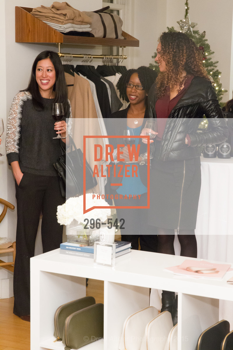 Edna Wentrombli, Robyn Cameron, Gina Clayton, Cuyana + The McBride Sisters, Cayuna Showroom. 291 Geary Street, 2nd Floor, November 19th, 2015,Drew Altizer, Drew Altizer Photography, full-service agency, private events, San Francisco photographer, photographer california