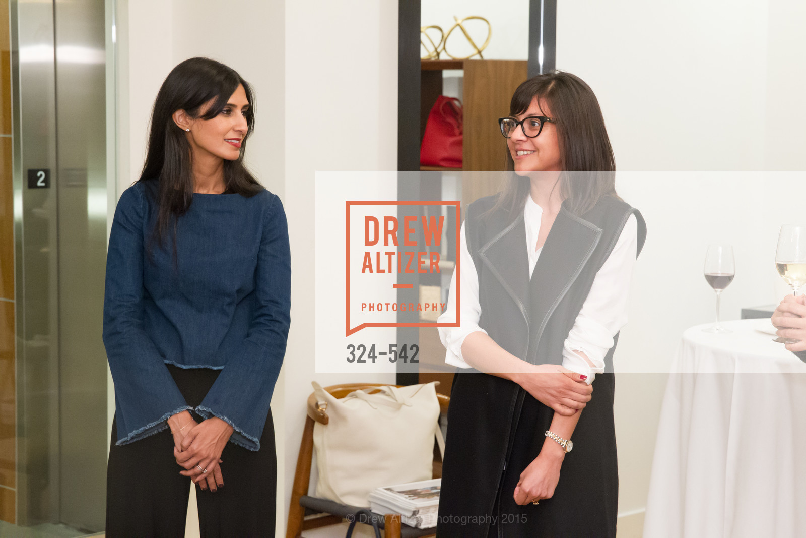Shilpa Shah, Karla Gallardo, Cuyana + The McBride Sisters, Cayuna Showroom. 291 Geary Street, 2nd Floor, November 19th, 2015,Drew Altizer, Drew Altizer Photography, full-service agency, private events, San Francisco photographer, photographer california