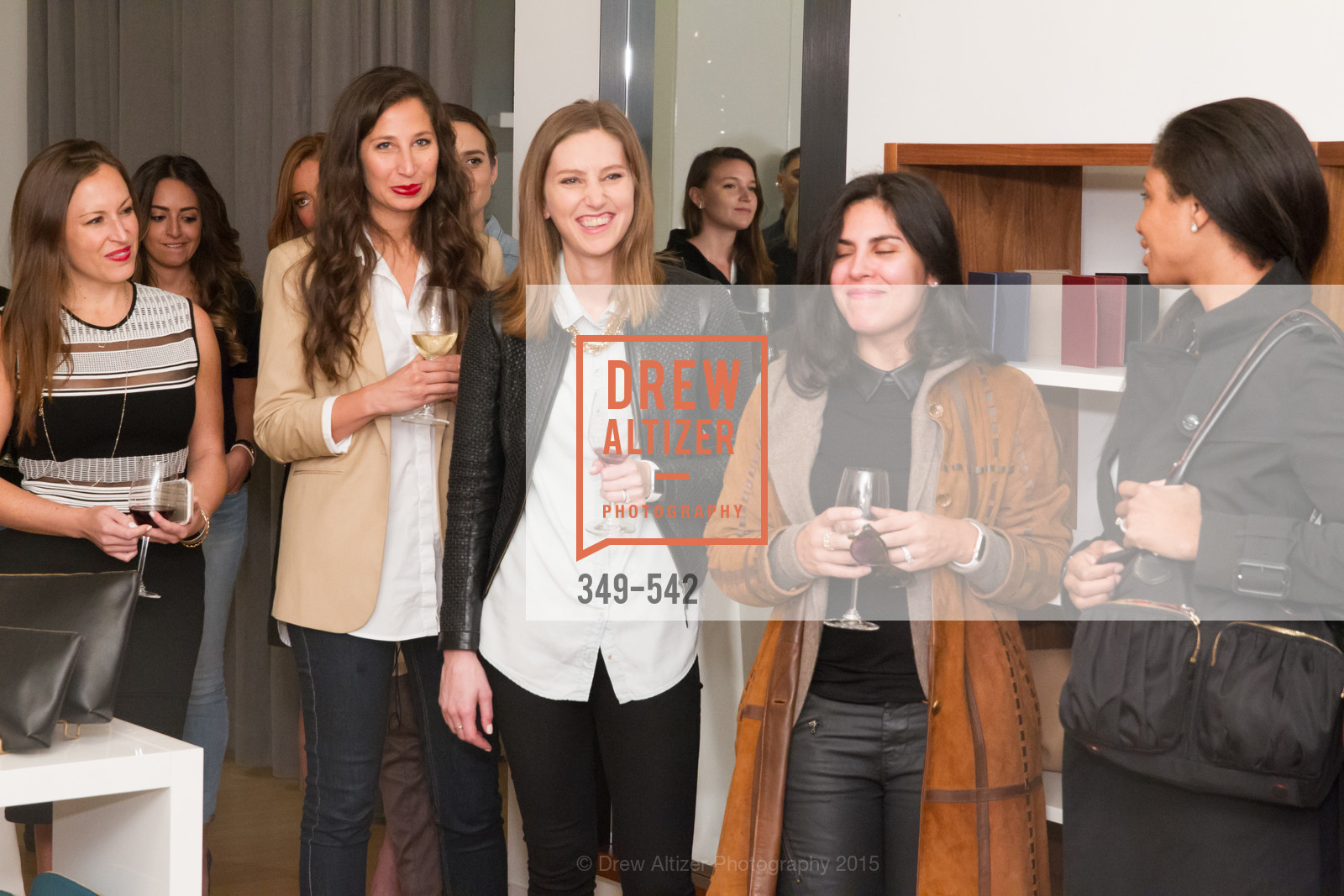 Atmosphere, Cuyana + The McBride Sisters, Cayuna Showroom. 291 Geary Street, 2nd Floor, November 19th, 2015,Drew Altizer, Drew Altizer Photography, full-service event agency, private events, San Francisco photographer, photographer California