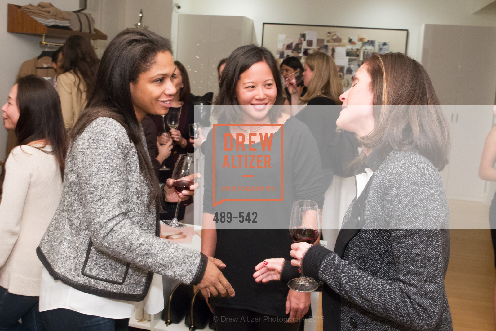 Nicole Irving, Tracy Sun, Cuyana + The McBride Sisters, Cayuna Showroom. 291 Geary Street, 2nd Floor, November 19th, 2015,Drew Altizer, Drew Altizer Photography, full-service agency, private events, San Francisco photographer, photographer california