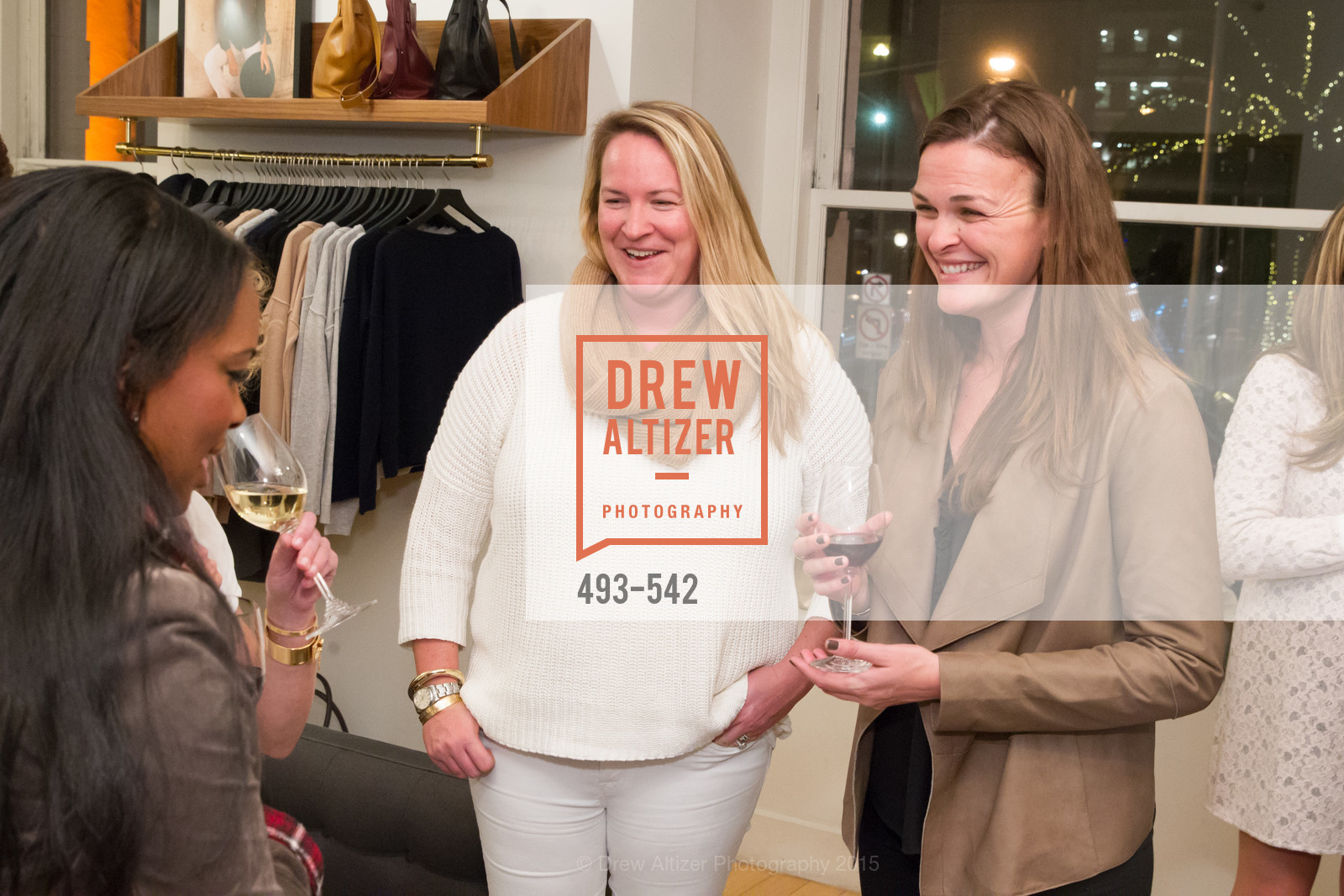 Allison Stickney, Amy Partridge, Cuyana + The McBride Sisters, Cayuna Showroom. 291 Geary Street, 2nd Floor, November 19th, 2015,Drew Altizer, Drew Altizer Photography, full-service agency, private events, San Francisco photographer, photographer california