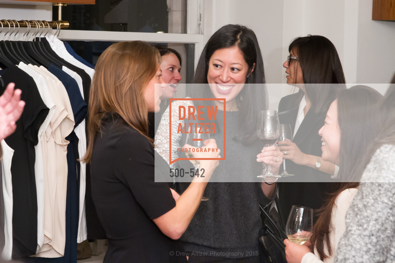 Edna Wentrombli, Cuyana + The McBride Sisters, Cayuna Showroom. 291 Geary Street, 2nd Floor, November 19th, 2015,Drew Altizer, Drew Altizer Photography, full-service agency, private events, San Francisco photographer, photographer california
