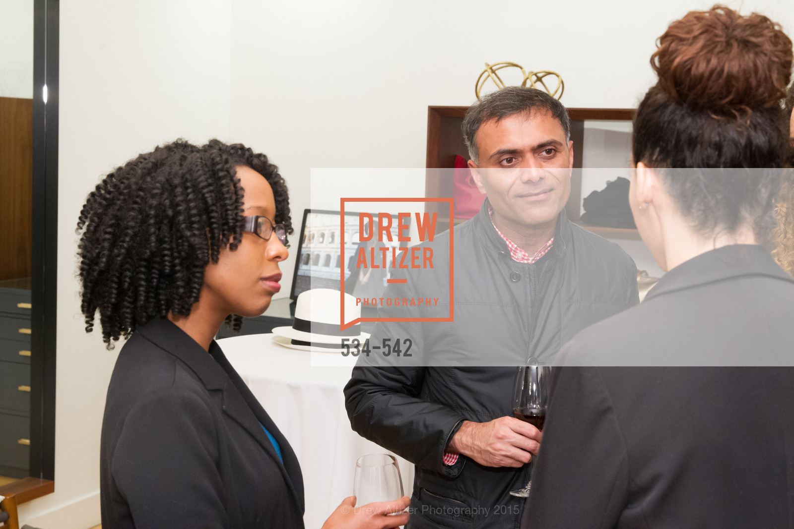 Robyn Cameron, Keval Desai, Cuyana + The McBride Sisters, Cayuna Showroom. 291 Geary Street, 2nd Floor, November 19th, 2015,Drew Altizer, Drew Altizer Photography, full-service agency, private events, San Francisco photographer, photographer california