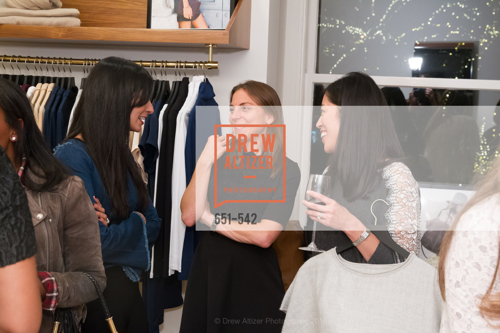 Lauren Cummings, Cuyana + The McBride Sisters, Cayuna Showroom. 291 Geary Street, 2nd Floor, November 19th, 2015,Drew Altizer, Drew Altizer Photography, full-service agency, private events, San Francisco photographer, photographer california