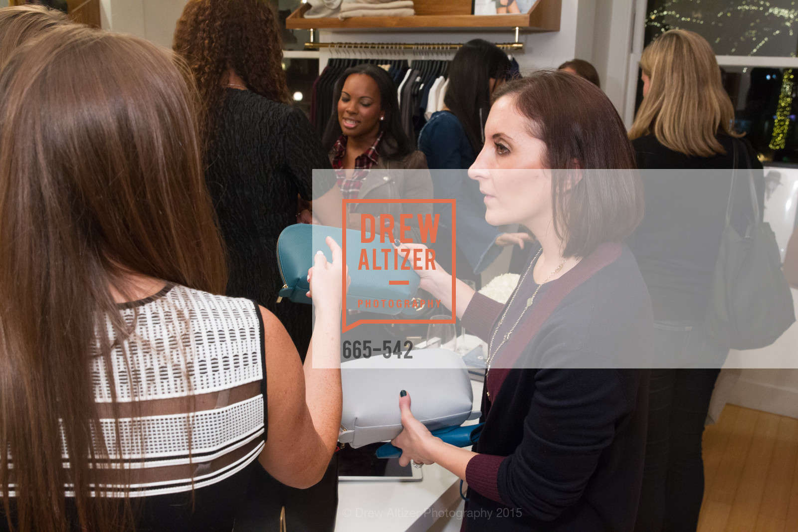 Julia Taylor, Cuyana + The McBride Sisters, Cayuna Showroom. 291 Geary Street, 2nd Floor, November 19th, 2015,Drew Altizer, Drew Altizer Photography, full-service agency, private events, San Francisco photographer, photographer california