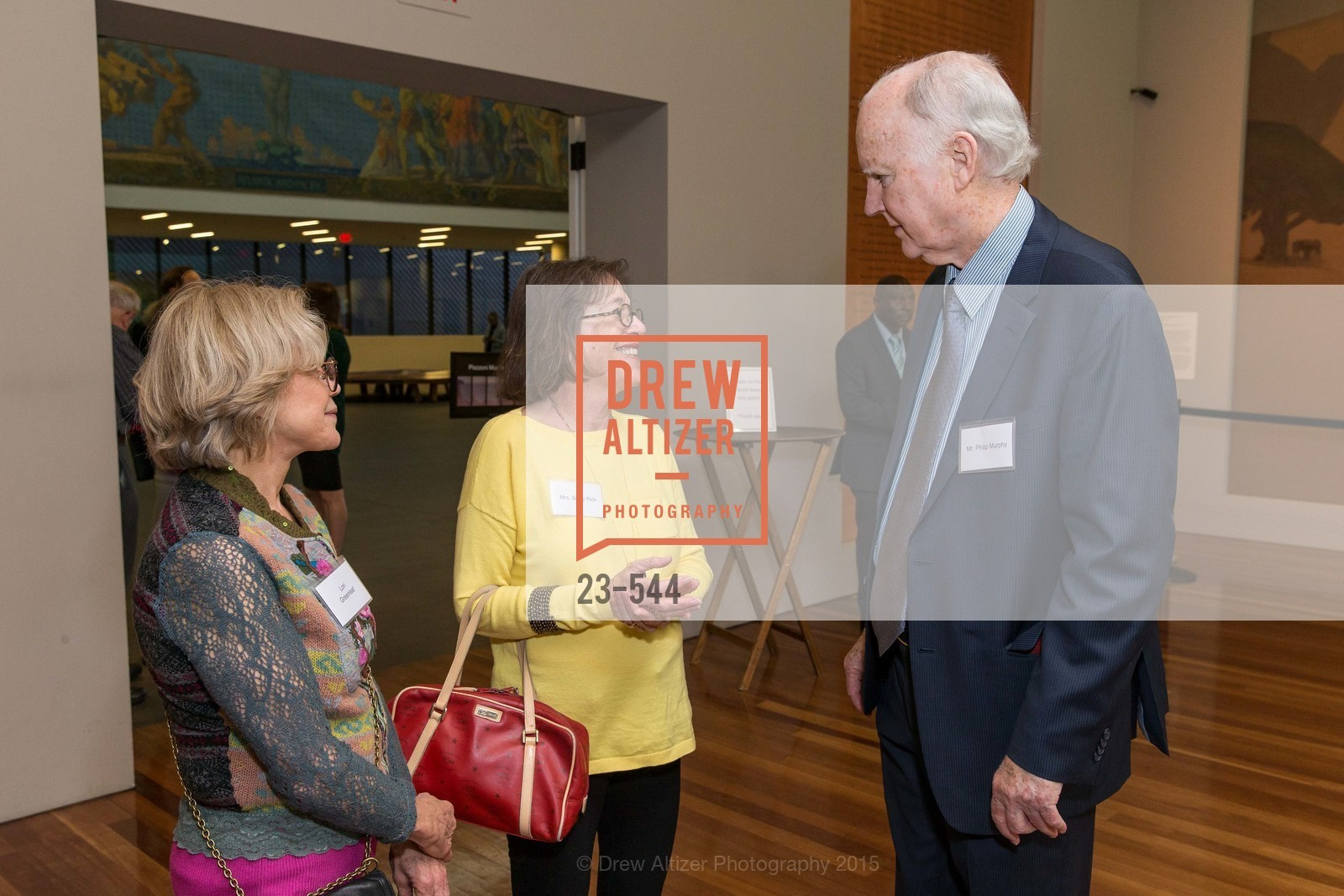 Lorie Greenleaf, Betsy Rick, Philip Murphy, FAMSF hosts the Legacy Tea Reception, de Young Museum, November 17th, 2015,Drew Altizer, Drew Altizer Photography, full-service agency, private events, San Francisco photographer, photographer california