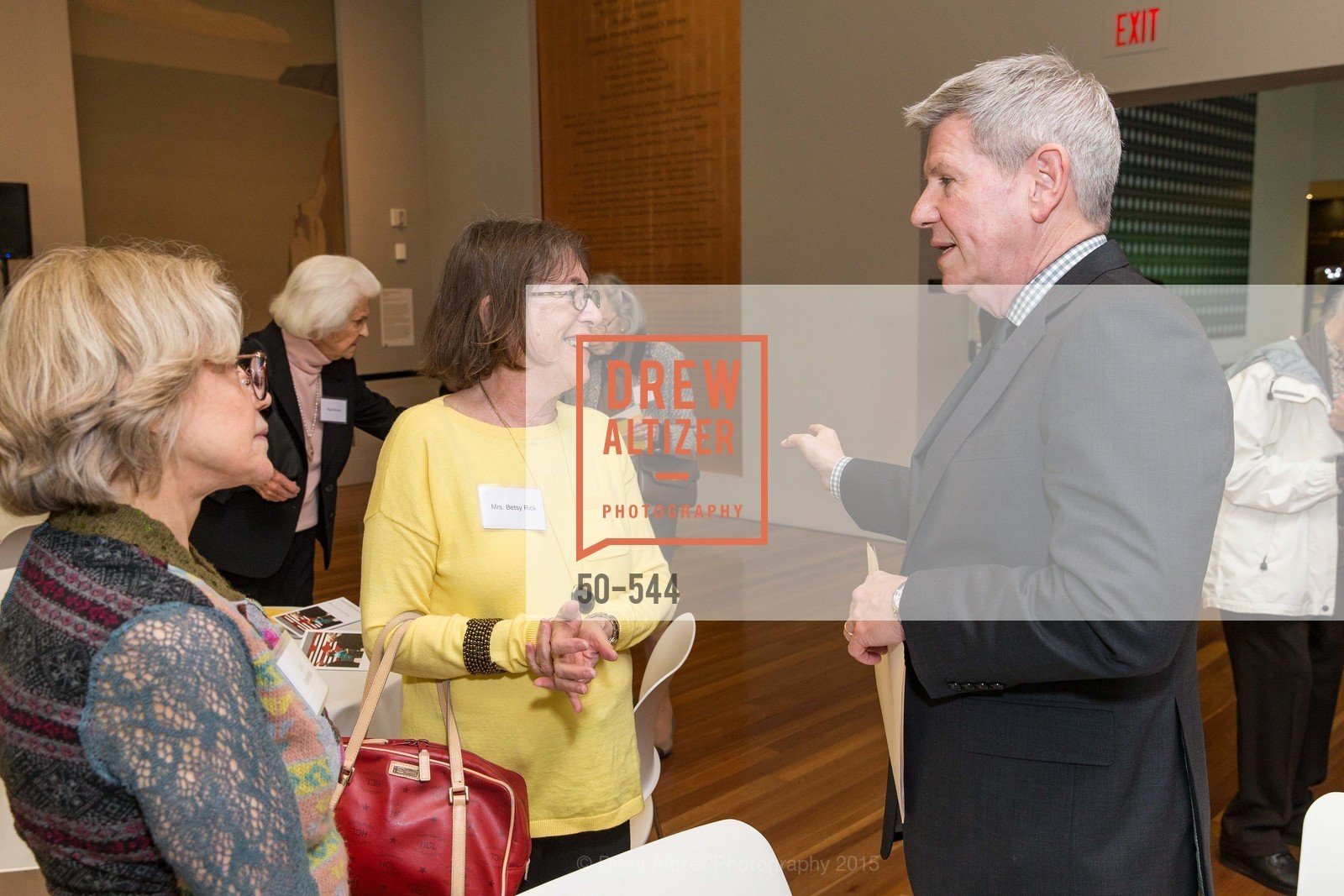 Lorie Greenleaf, Betsy Rick, Richard Benefield, FAMSF hosts the Legacy Tea Reception, de Young Museum, November 17th, 2015,Drew Altizer, Drew Altizer Photography, full-service agency, private events, San Francisco photographer, photographer california