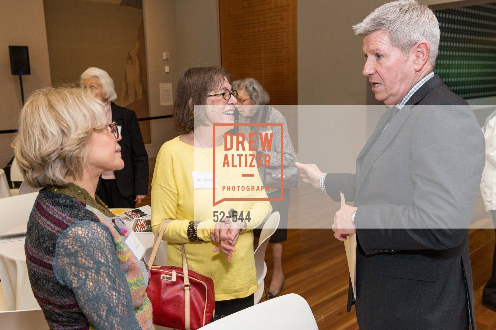 Lorie Greenleaf, Betsy Rick, Richard Benefield, FAMSF hosts the Legacy Tea Reception, de Young Museum, November 17th, 2015,Drew Altizer, Drew Altizer Photography, full-service event agency, private events, San Francisco photographer, photographer California