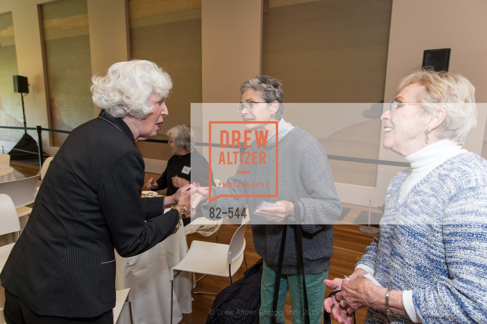 Kathie Cheatham, Fran Johns, FAMSF hosts the Legacy Tea Reception, de Young Museum, November 17th, 2015,Drew Altizer, Drew Altizer Photography, full-service event agency, private events, San Francisco photographer, photographer California