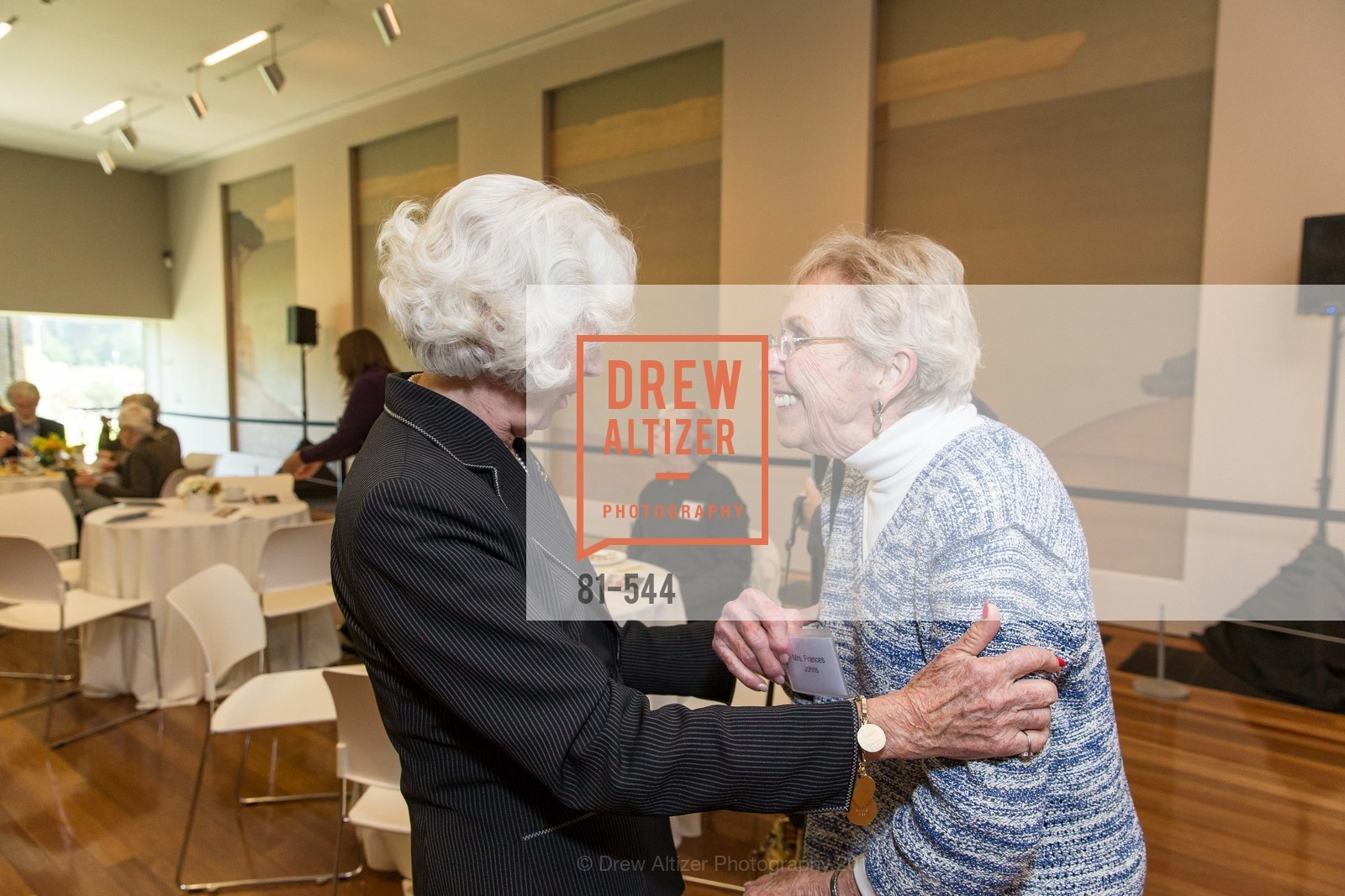 Katherine Wallin, Fran Johns, FAMSF hosts the Legacy Tea Reception, de Young Museum, November 17th, 2015,Drew Altizer, Drew Altizer Photography, full-service event agency, private events, San Francisco photographer, photographer California