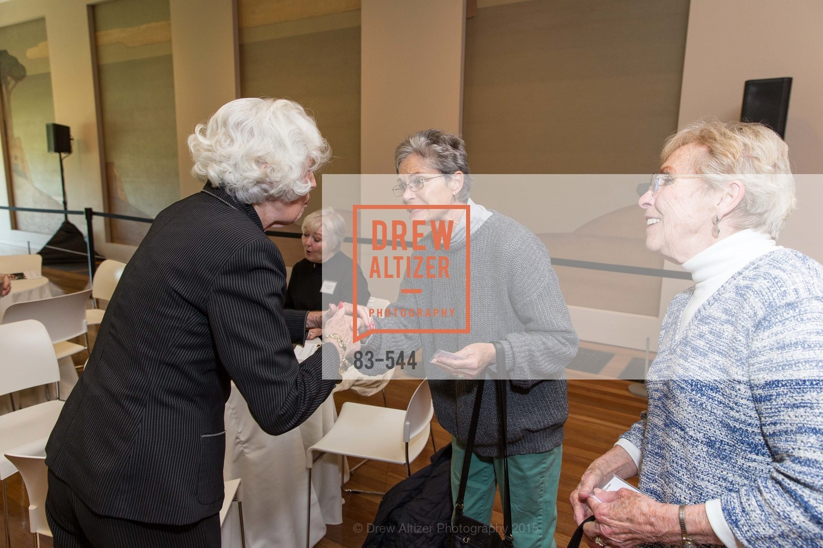 Kathie Cheatham, Fran Johns, FAMSF hosts the Legacy Tea Reception, de Young Museum, November 17th, 2015,Drew Altizer, Drew Altizer Photography, full-service agency, private events, San Francisco photographer, photographer california