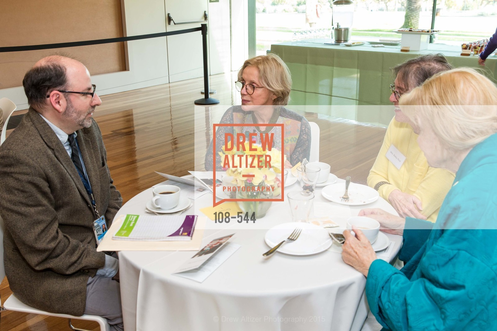 JIm Ganz, Lorie Greenleaf, Betsy Rick, Anmarie Roache, FAMSF hosts the Legacy Tea Reception, de Young Museum, November 17th, 2015,Drew Altizer, Drew Altizer Photography, full-service agency, private events, San Francisco photographer, photographer california