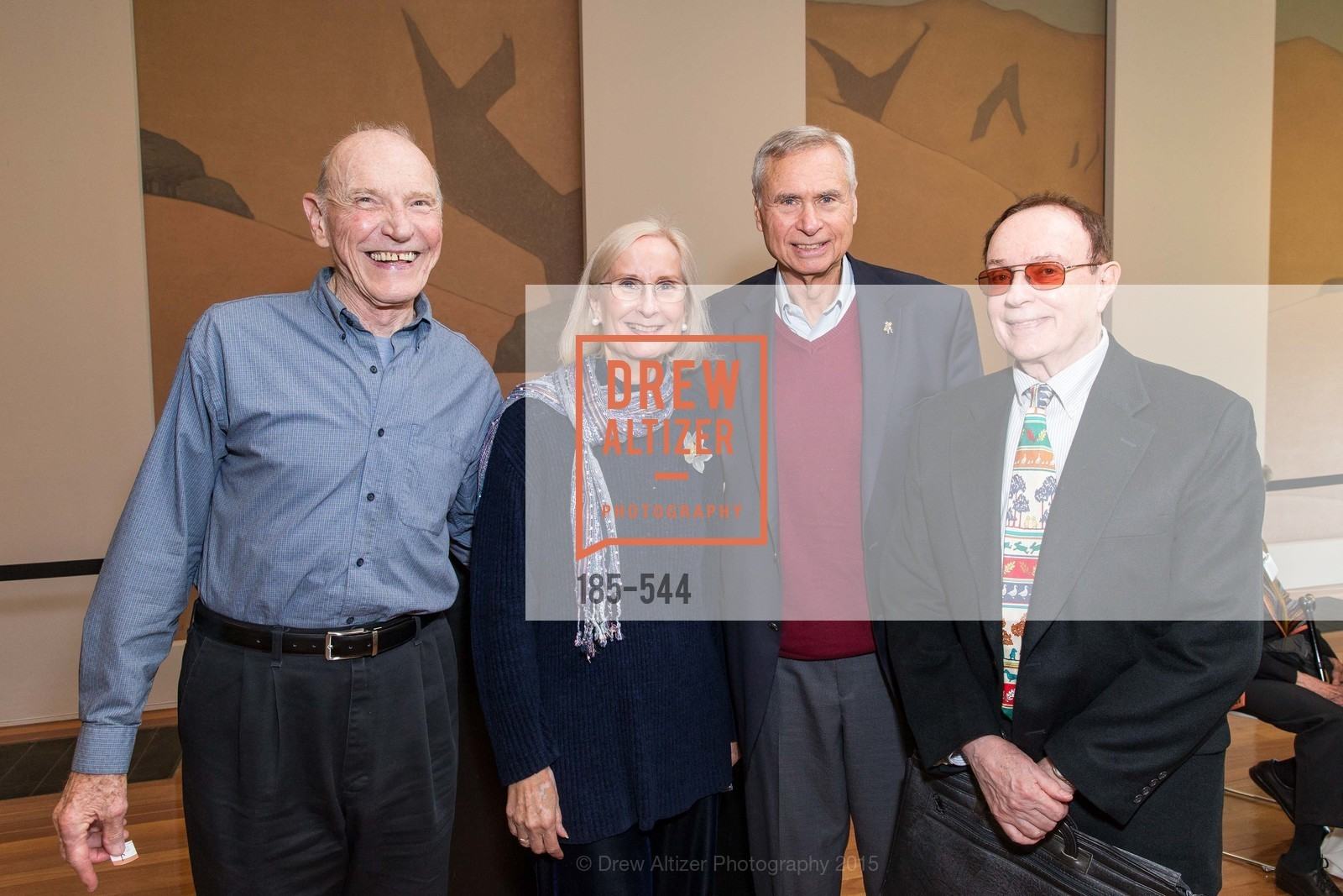 John McCallister, Nancy Thompson, Andrew Kerr, William Eddelman, FAMSF hosts the Legacy Tea Reception, de Young Museum, November 17th, 2015,Drew Altizer, Drew Altizer Photography, full-service agency, private events, San Francisco photographer, photographer california
