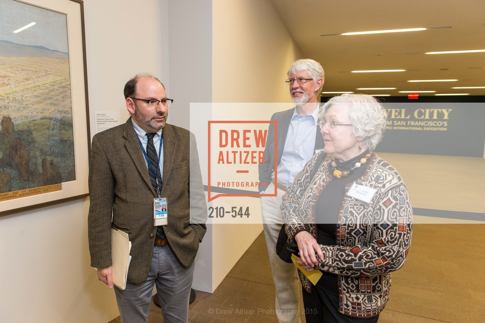 JIm Ganz, Cathy Moreland, Howard Moreland, FAMSF hosts the Legacy Tea Reception, de Young Museum, November 17th, 2015,Drew Altizer, Drew Altizer Photography, full-service agency, private events, San Francisco photographer, photographer california