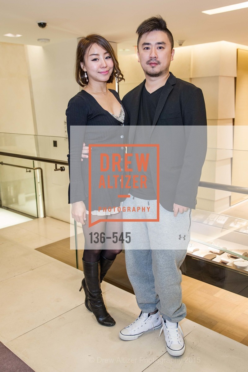 Maki Cheng, Billy But, Bulgari Presents B.Cocktail, Bulgari. 200 Stockton Street, November 17th, 2015,Drew Altizer, Drew Altizer Photography, full-service agency, private events, San Francisco photographer, photographer california