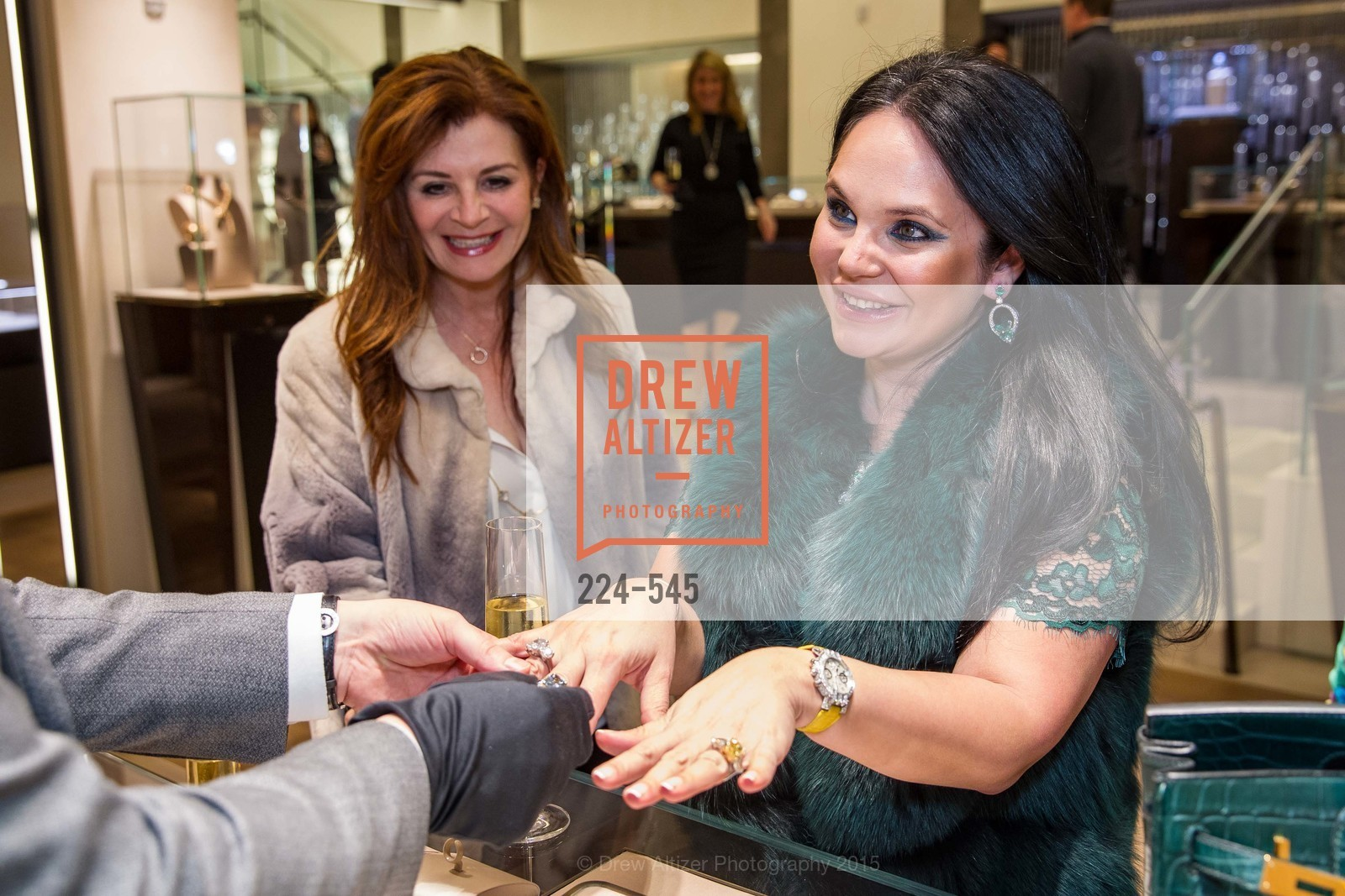Farah Makras, Rada Katz, Bulgari Presents B.Cocktail, Bulgari. 200 Stockton Street, November 17th, 2015,Drew Altizer, Drew Altizer Photography, full-service agency, private events, San Francisco photographer, photographer california