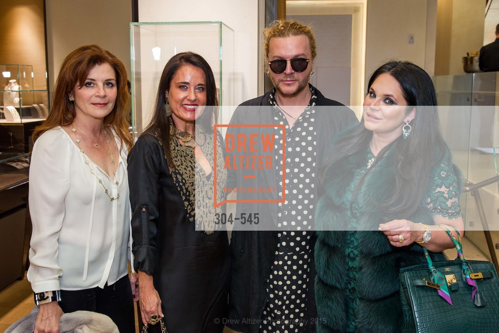 Farah Makras, Natalia Urrutia, Vasily Vein, Rada Katz, Bulgari Presents B.Cocktail, Bulgari. 200 Stockton Street, November 17th, 2015,Drew Altizer, Drew Altizer Photography, full-service agency, private events, San Francisco photographer, photographer california