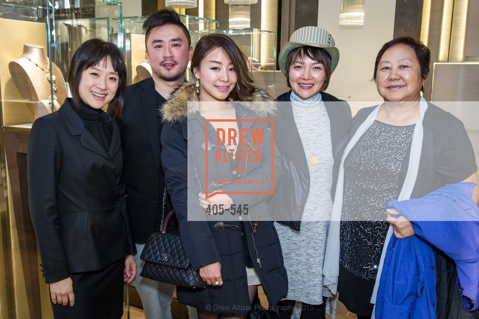 Lina Yin, Billy But, Maki Cheng, Samantha Wu, Bulgari Presents B.Cocktail, Bulgari. 200 Stockton Street, November 17th, 2015,Drew Altizer, Drew Altizer Photography, full-service agency, private events, San Francisco photographer, photographer california