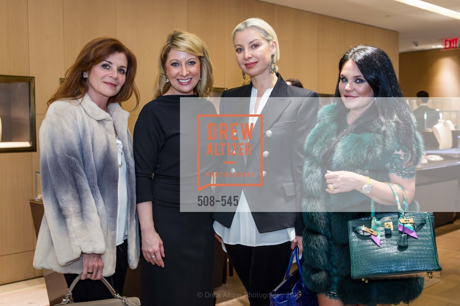 Farah Makras, Jennifer Mancuso, Sonya Molodetskaya, Rada Katz, Bulgari Presents B.Cocktail, Bulgari. 200 Stockton Street, November 17th, 2015,Drew Altizer, Drew Altizer Photography, full-service event agency, private events, San Francisco photographer, photographer California